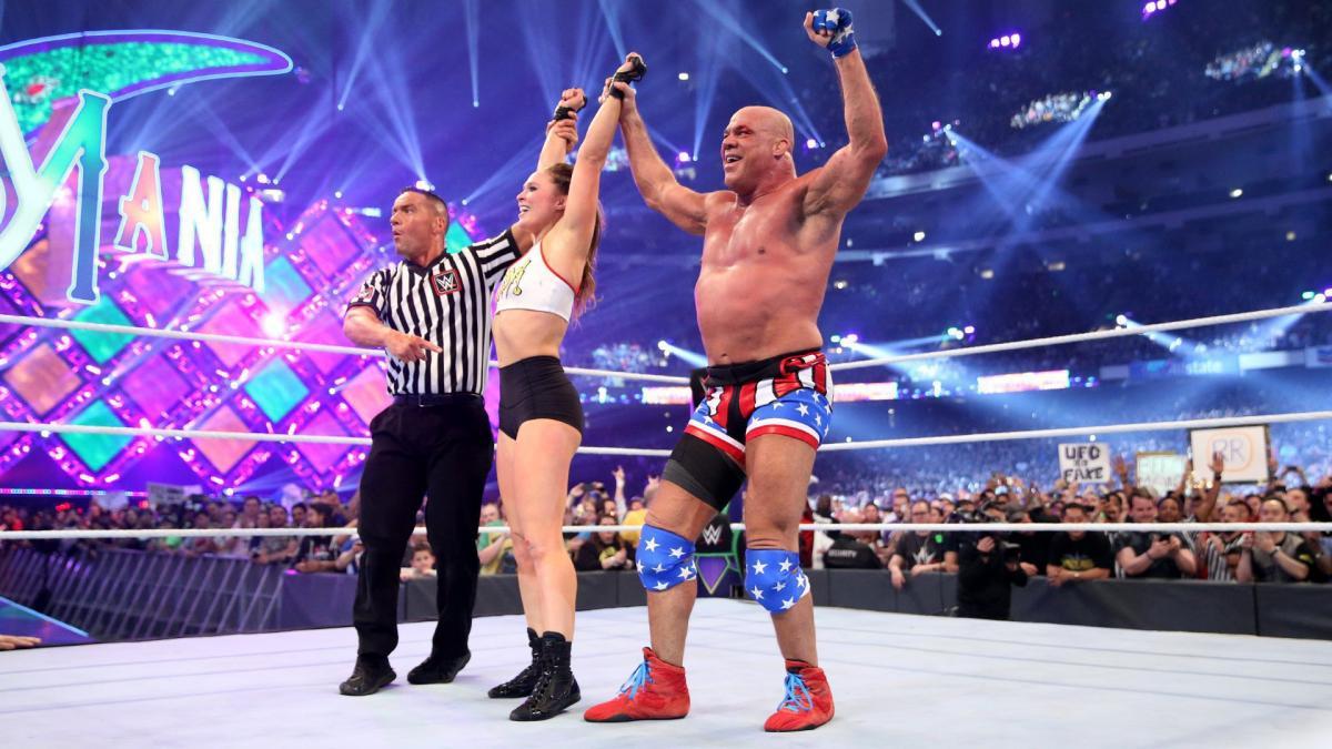 Original WWE 'WrestleMania 34' Plans For Kurt Angle Revealed