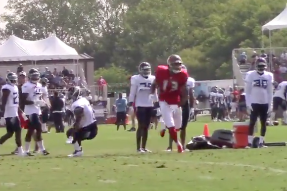 Watch: Mike Evans puts sick move on Malcolm Butler, leaves him in the dust