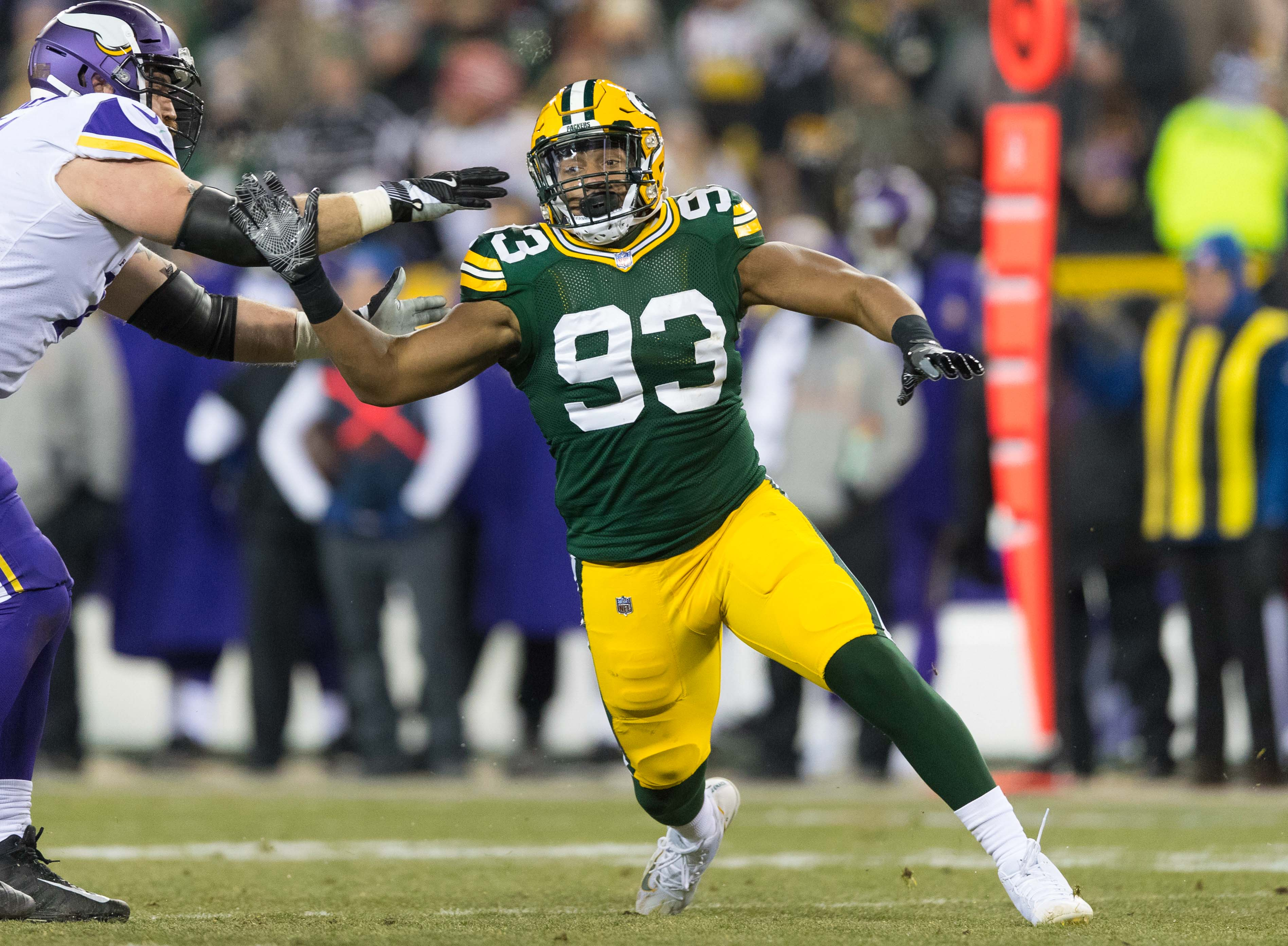 Reggie Gilbert Aims to Solve Packers Problems at Edge Rusher