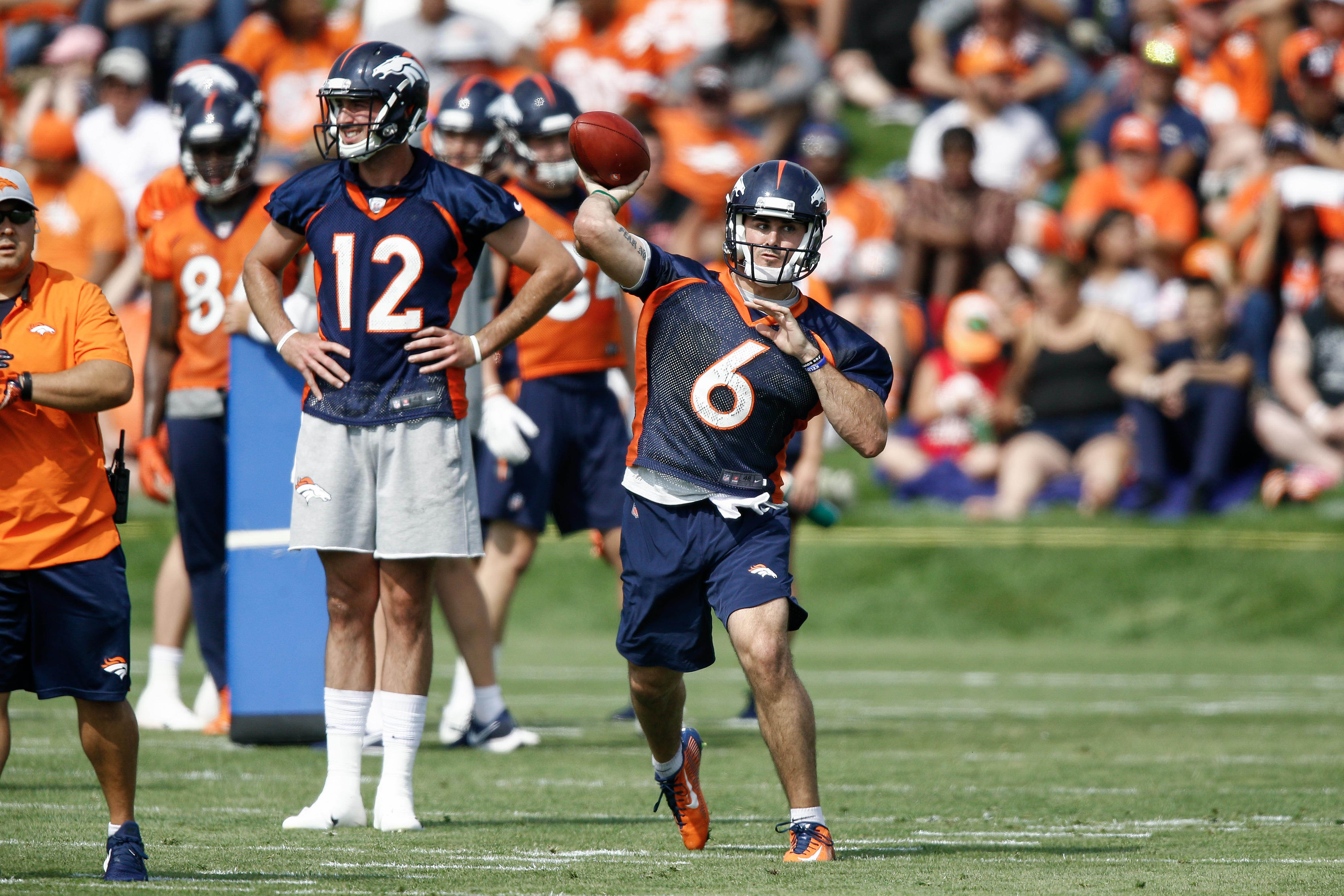 Chad Kelly promoted to Broncos backup QB amid Paxton Lynch's struggles