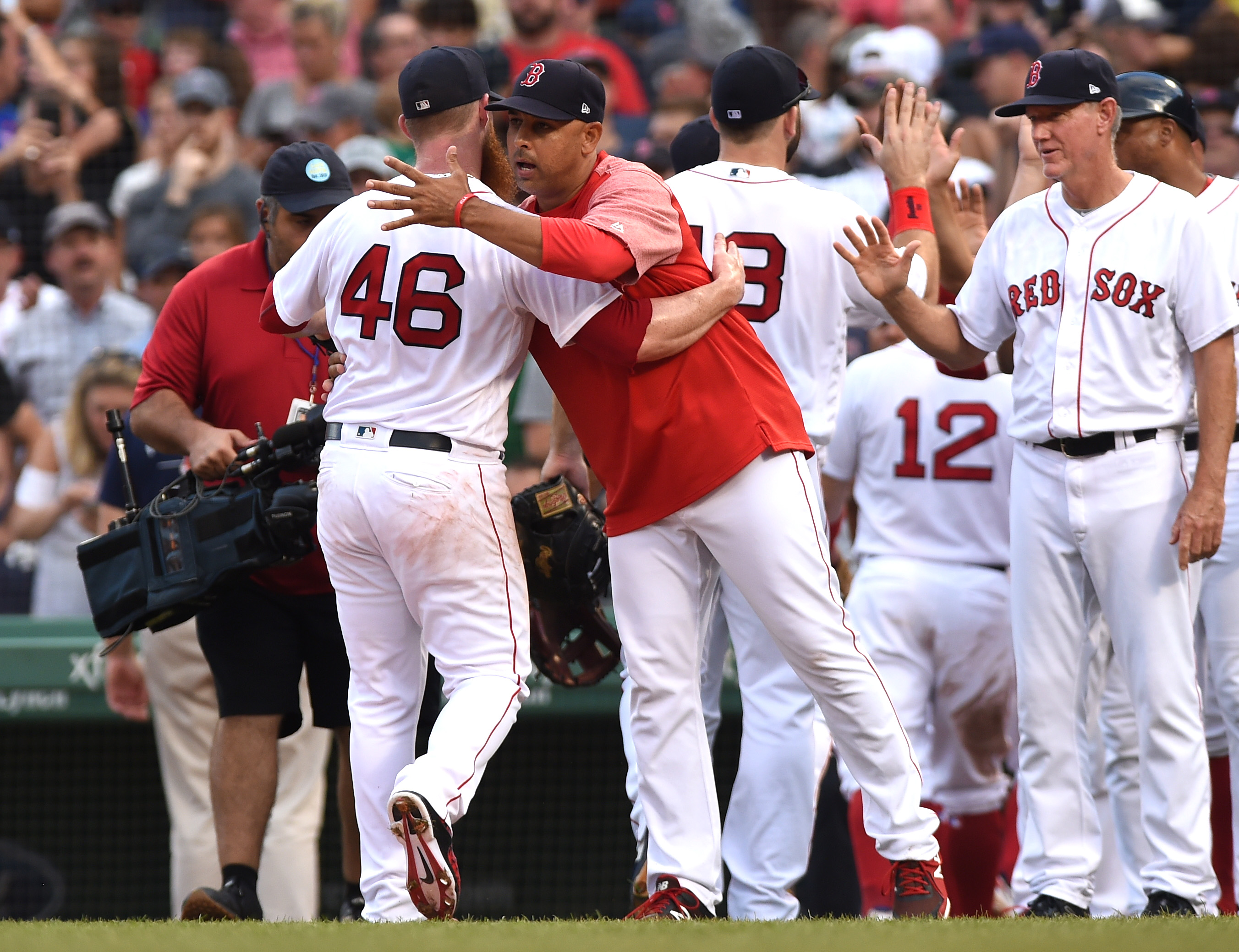 Craig Kimbrel struggling immensely during great Red Sox Run
