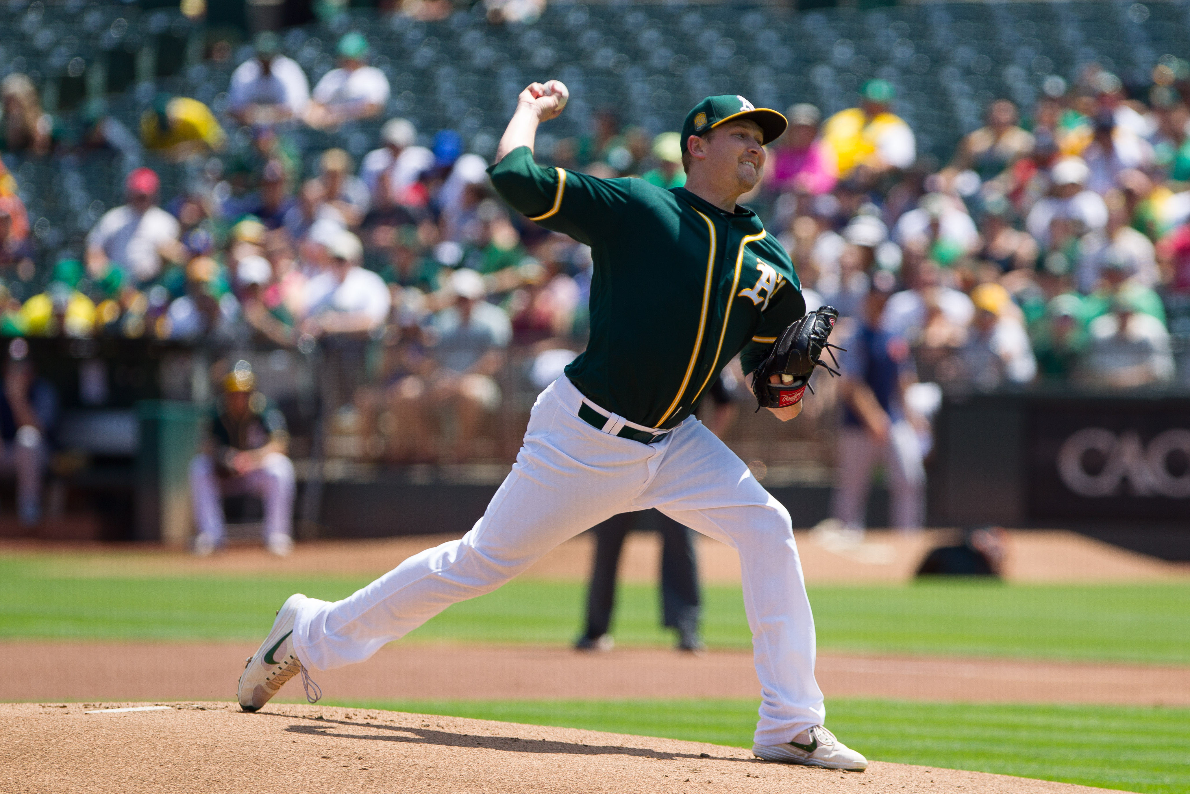 trevor cahill oakland athletics