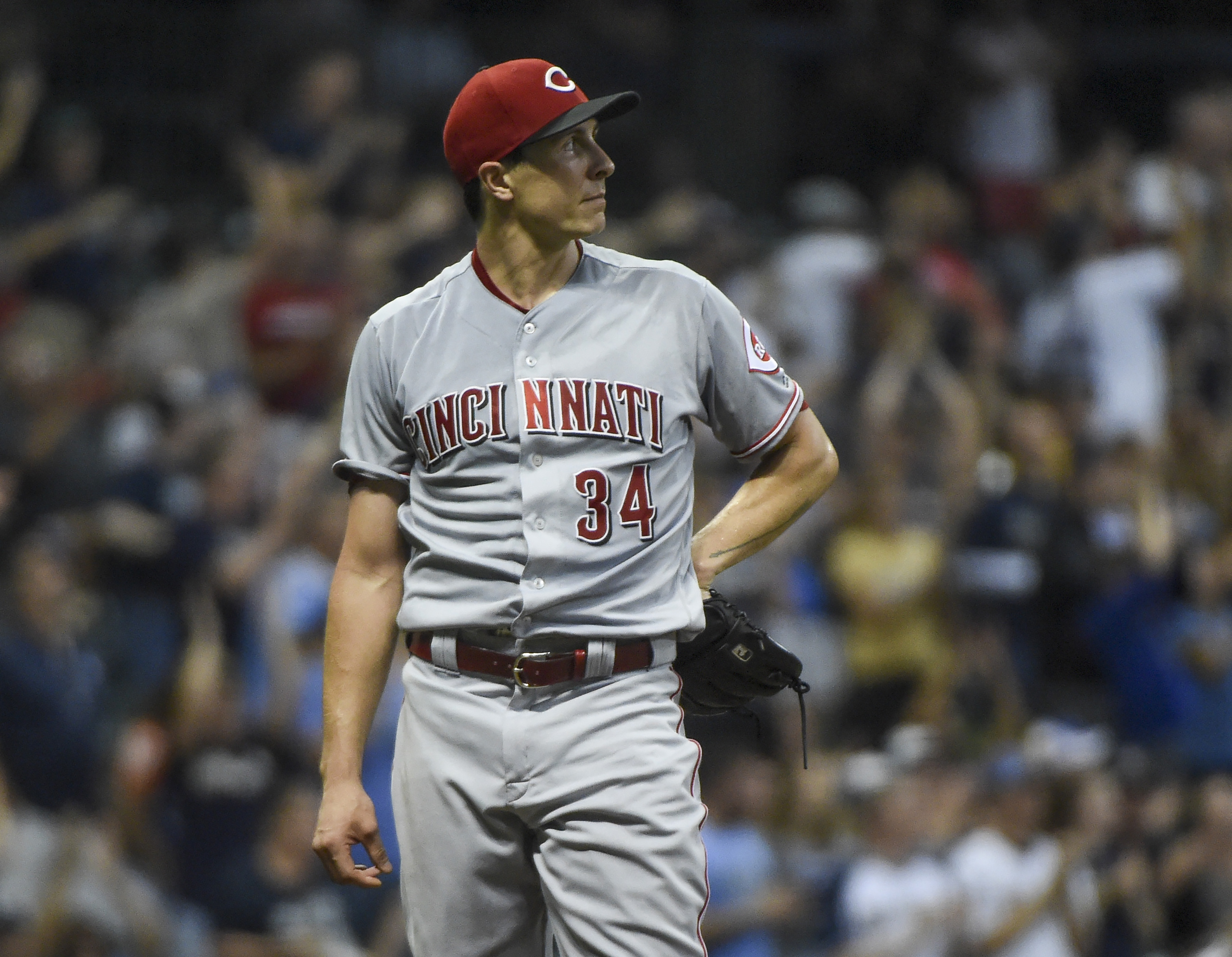 Cincinnati Reds can't win with Homer Bailey on the mound