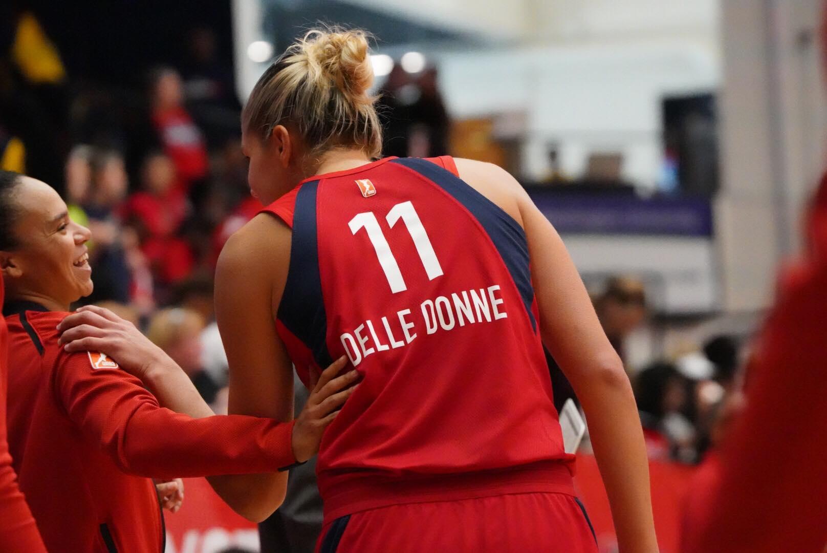 'Nice present' Elena Delle Donne and 'due' Kristi Toliver help Mystics force Game 5