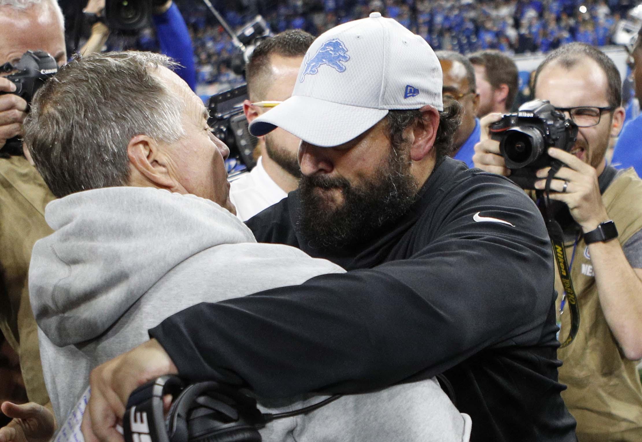 Patriots-Lions Recap