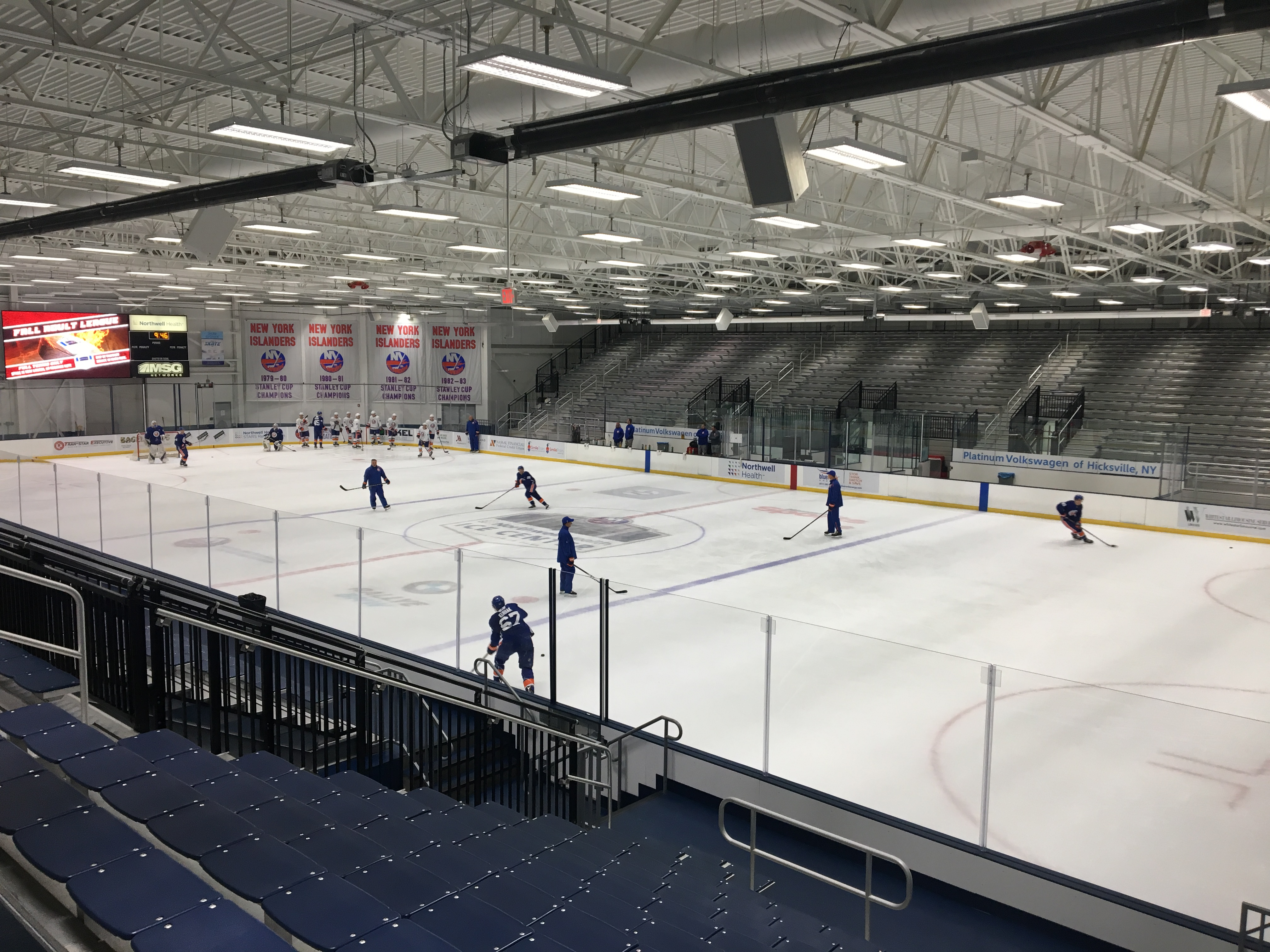 Isles rookie camp notebook: Thompson likes look of team's prospects
