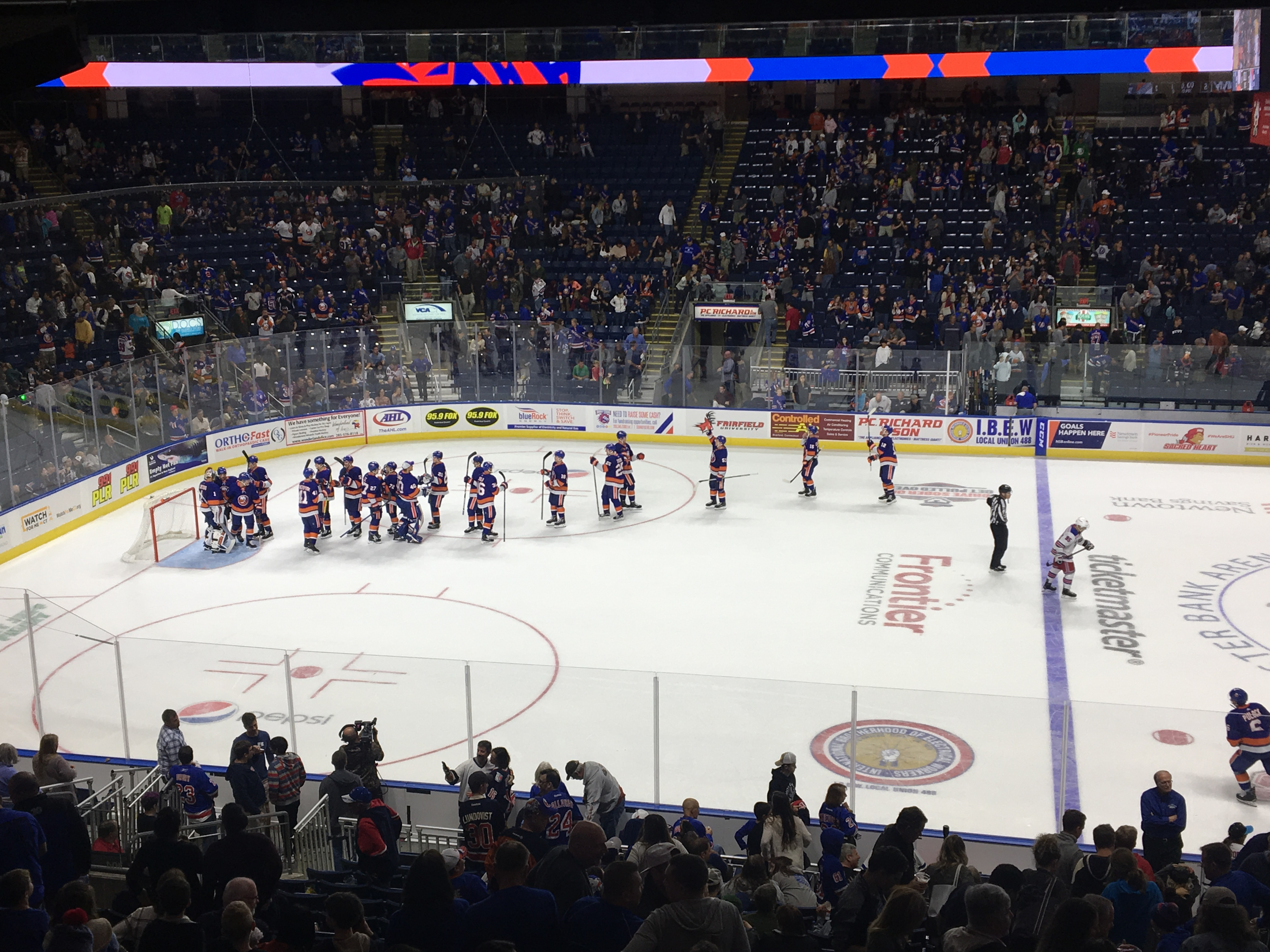 Isles Insights: A hockey game was played in Bridgeport