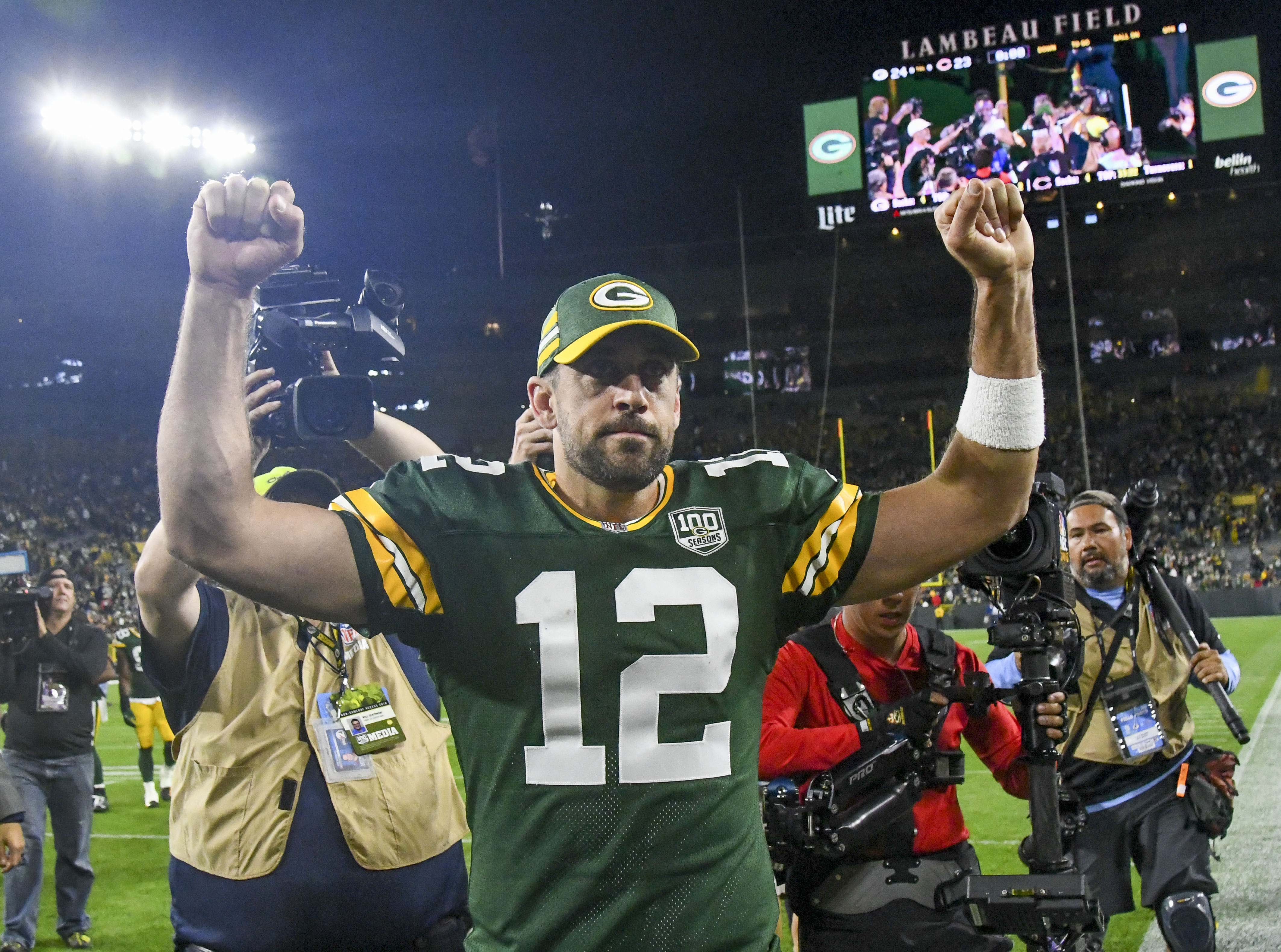 Aaron Rodgers' Week 1 feat will span generations