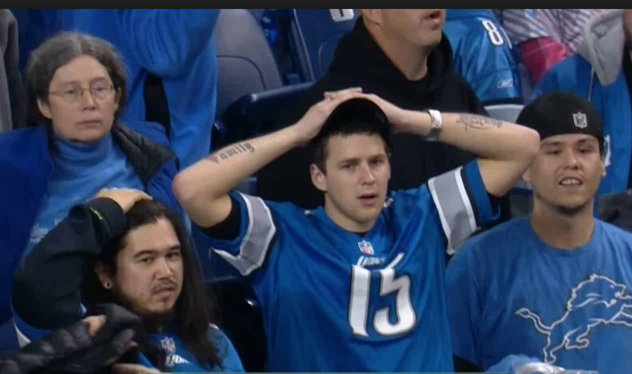 Lions fans boo team during pathetic performance