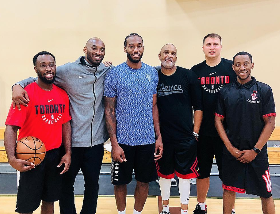 Look: Kawhi Leonard spotted working out with Kobe Bryant in Los Angeles