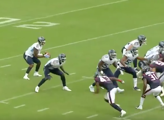 Watch: Titans burn Texans with perfect fake punt TD pass