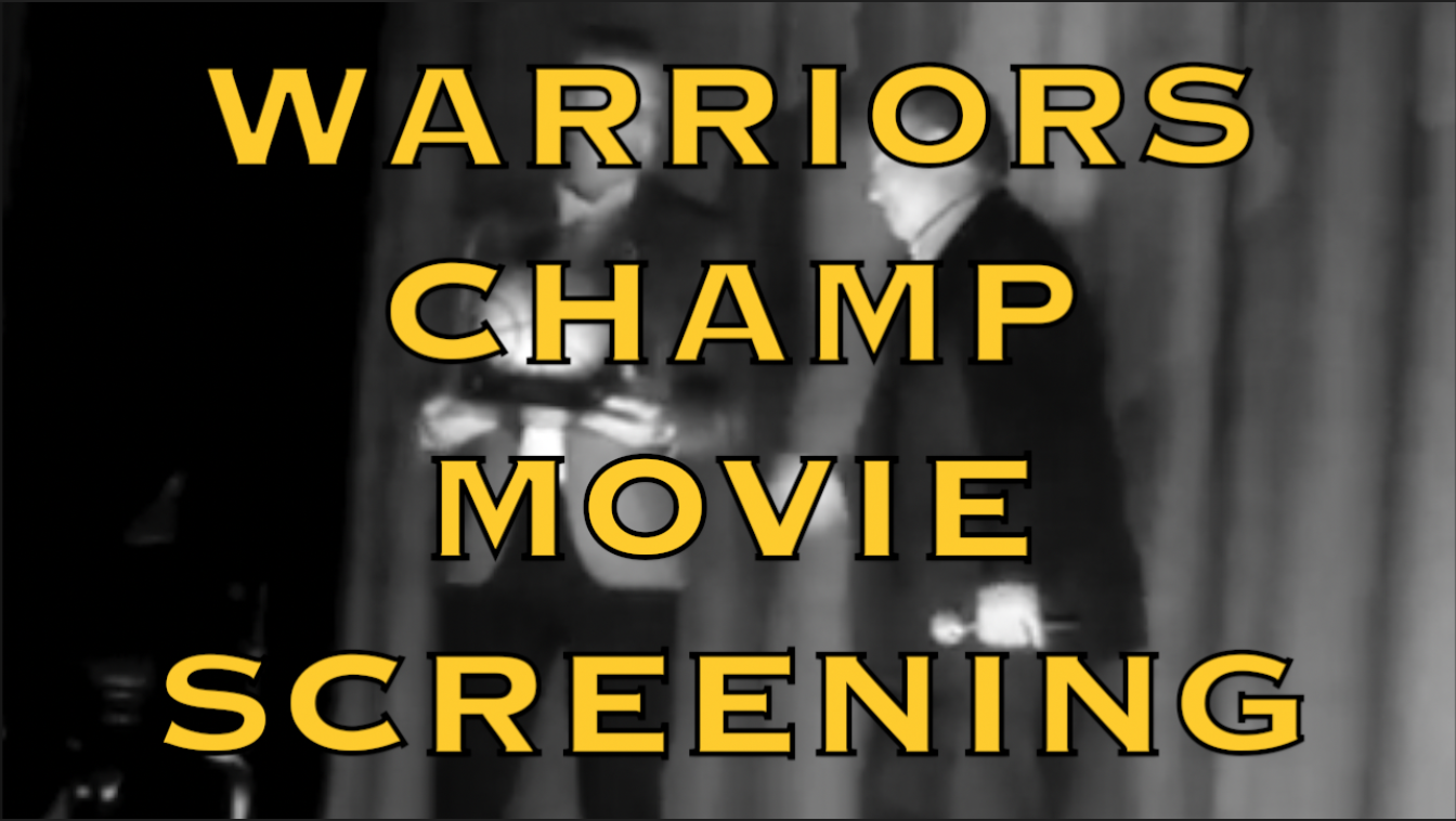 [VIDEO] Golden State Warriors Screen 2017-18 Championship Movie (available on DVD) at Grand Lake Theatre, Oakland
