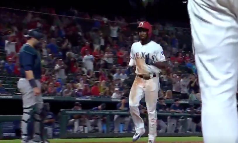Watch: Jurickson Profar somehow turns routine pop-up into little league home run