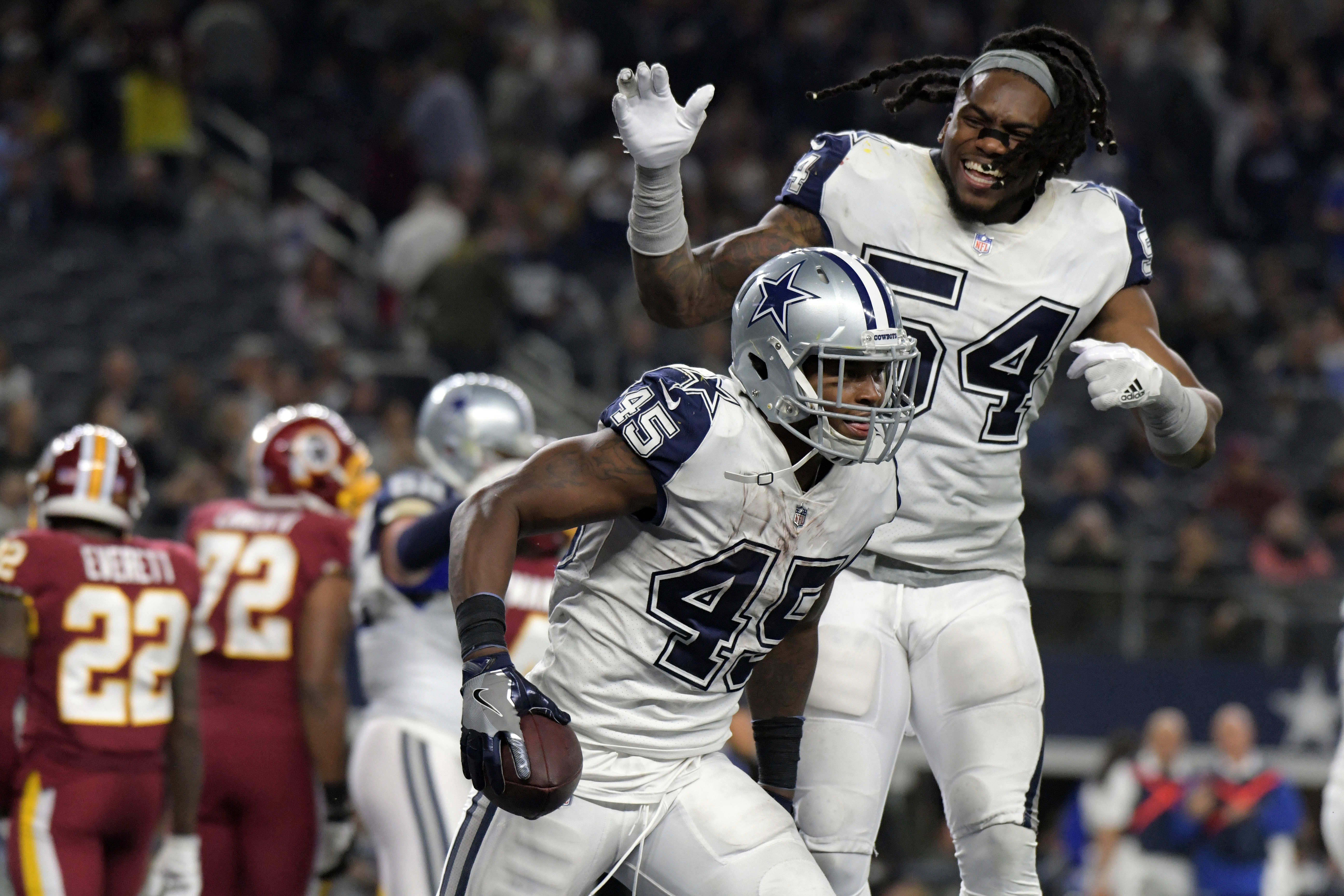 Jaylon Smith will feel the pressure in Cowboys' opening game