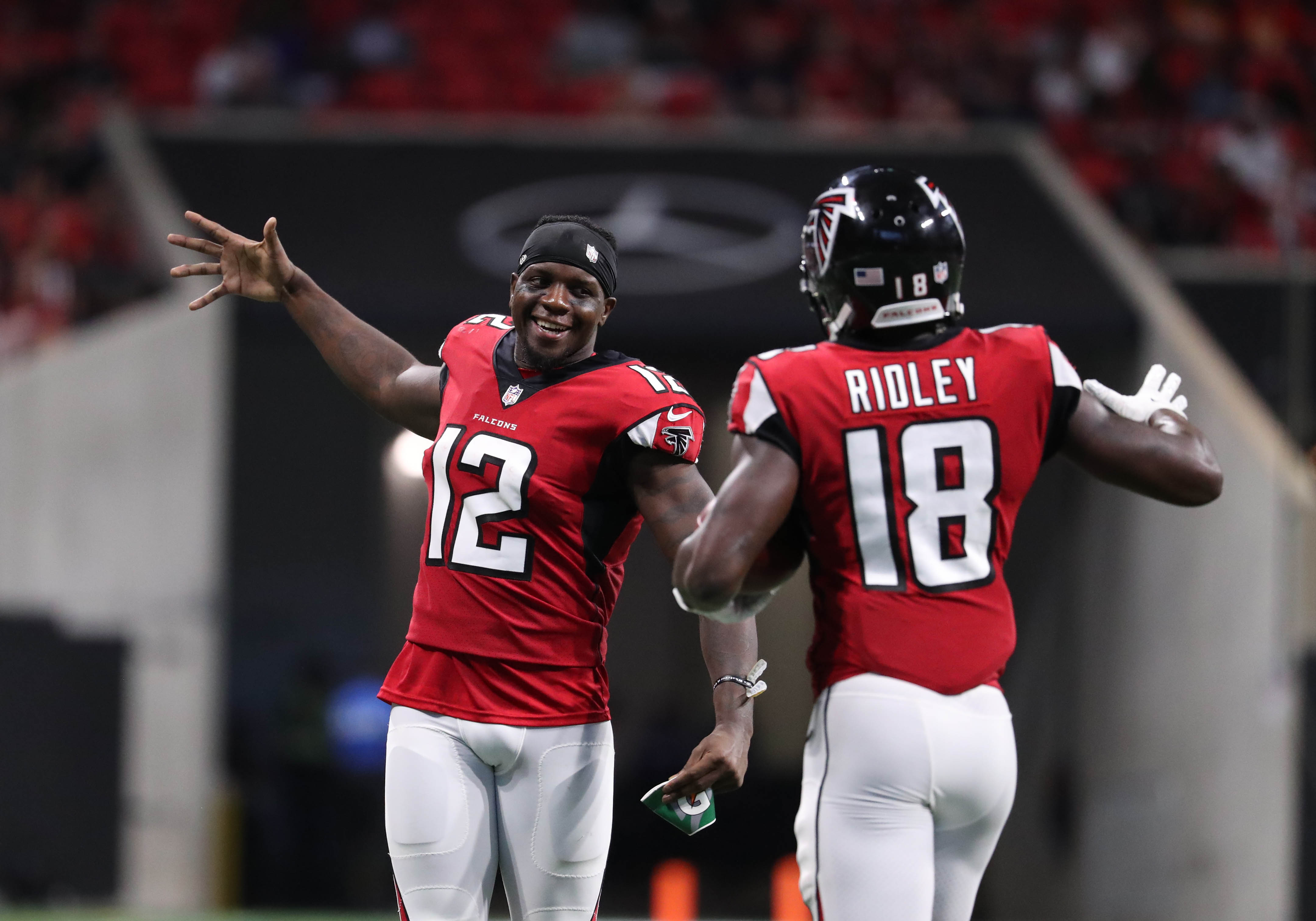 Former Alabama star WR Calvin Ridley scores first NFL TD (Video)