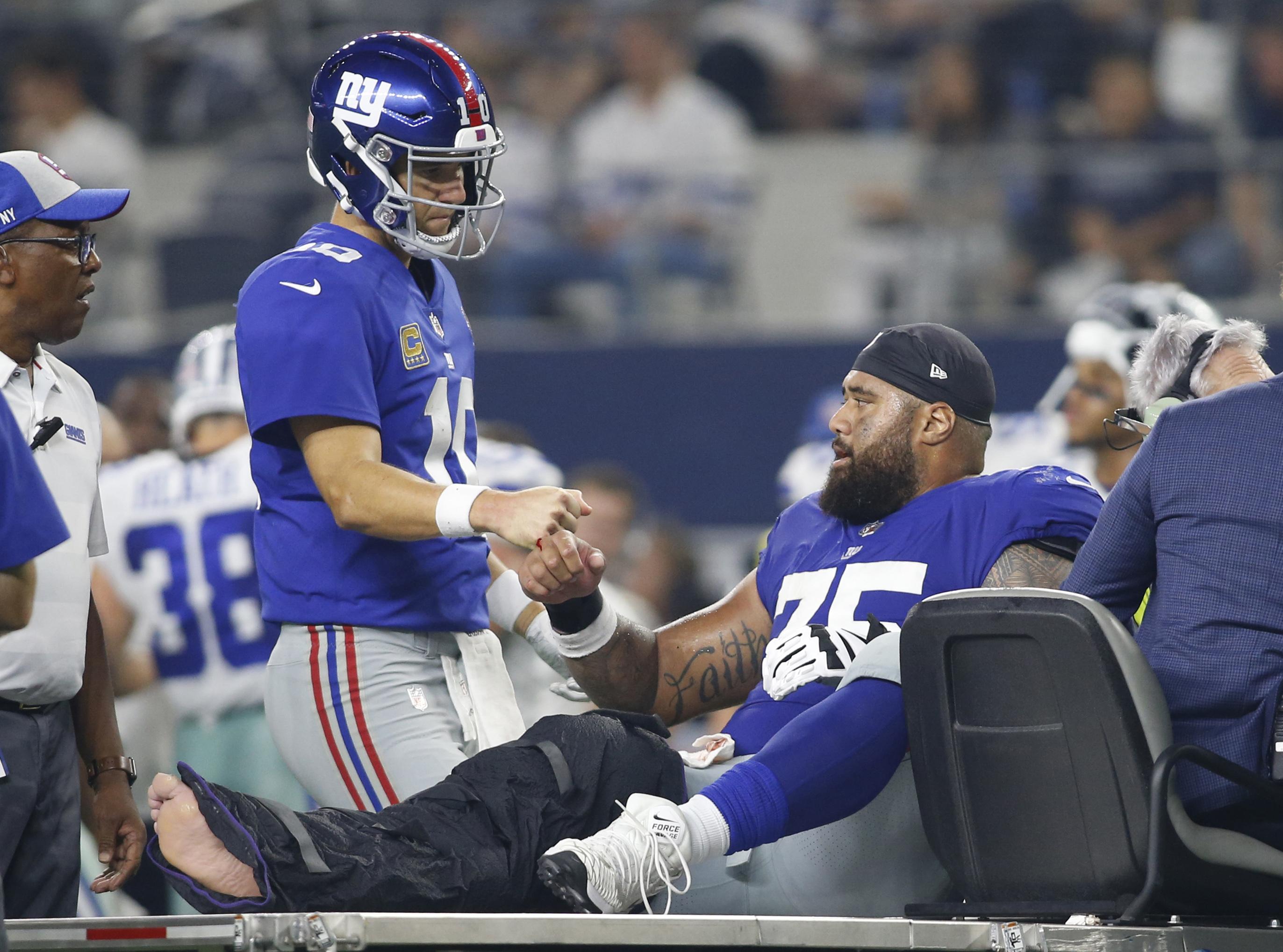 Jon Halapio's Season-Ending Injury Just Adds To The Giants' Early Woes
