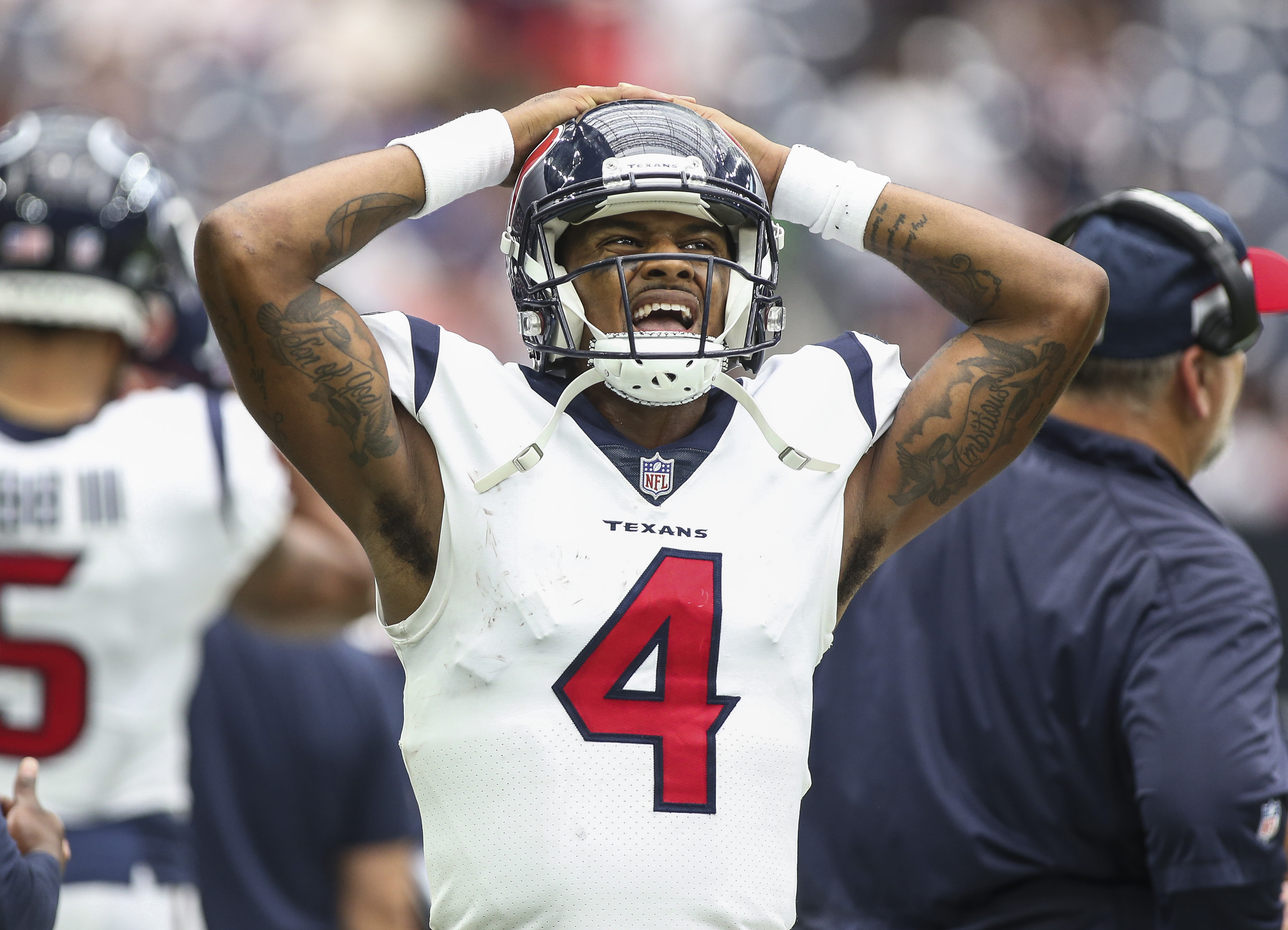 Even QB Deshaun Watson opposes new roughing the passer rule