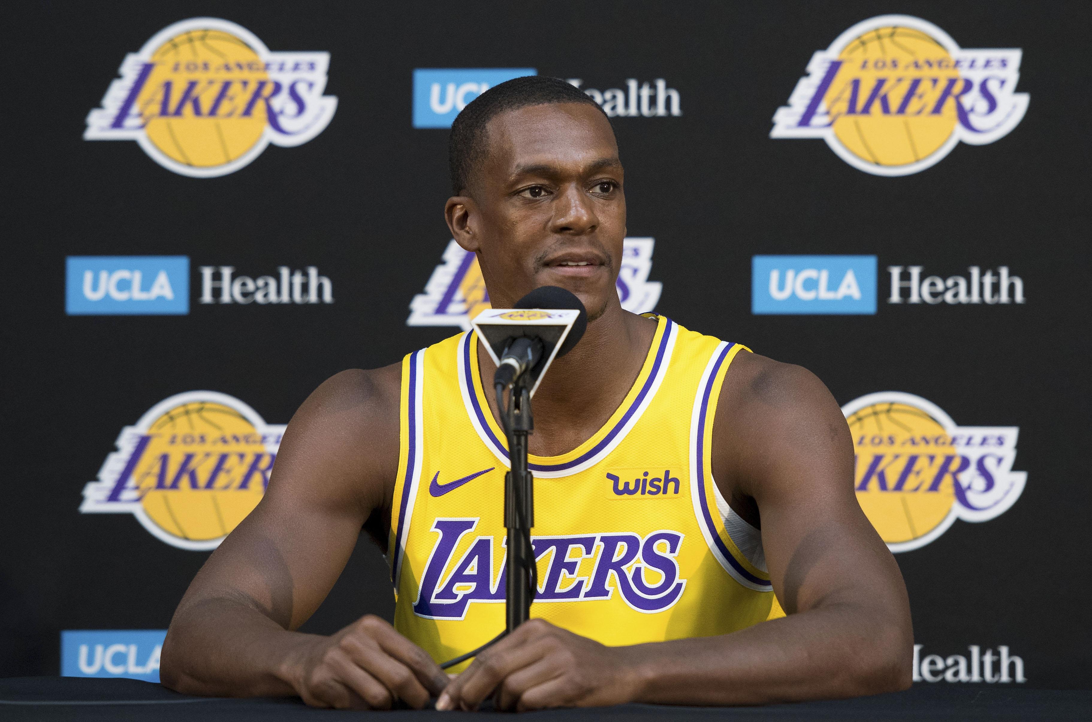 Lakers will start Rajon Rondo to begin the 2018-19 season
