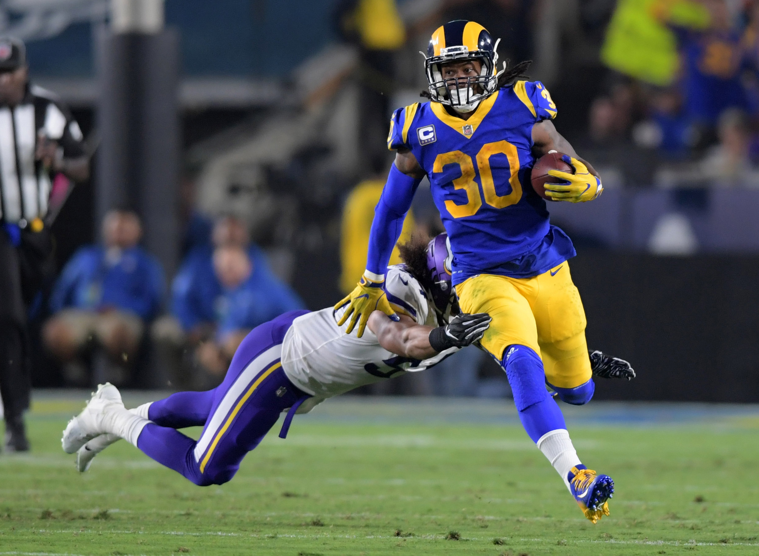 Todd Gurley after win: Rams can't be beaten right now