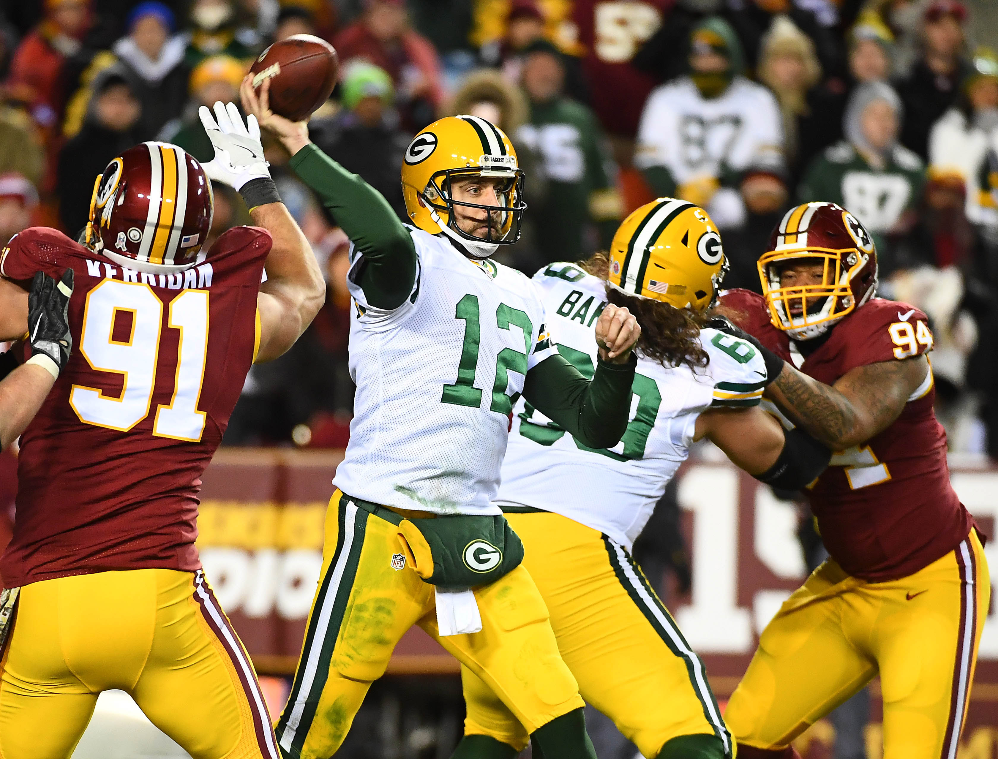 Breaking Down Five Key Matchups for Packers vs Redskins