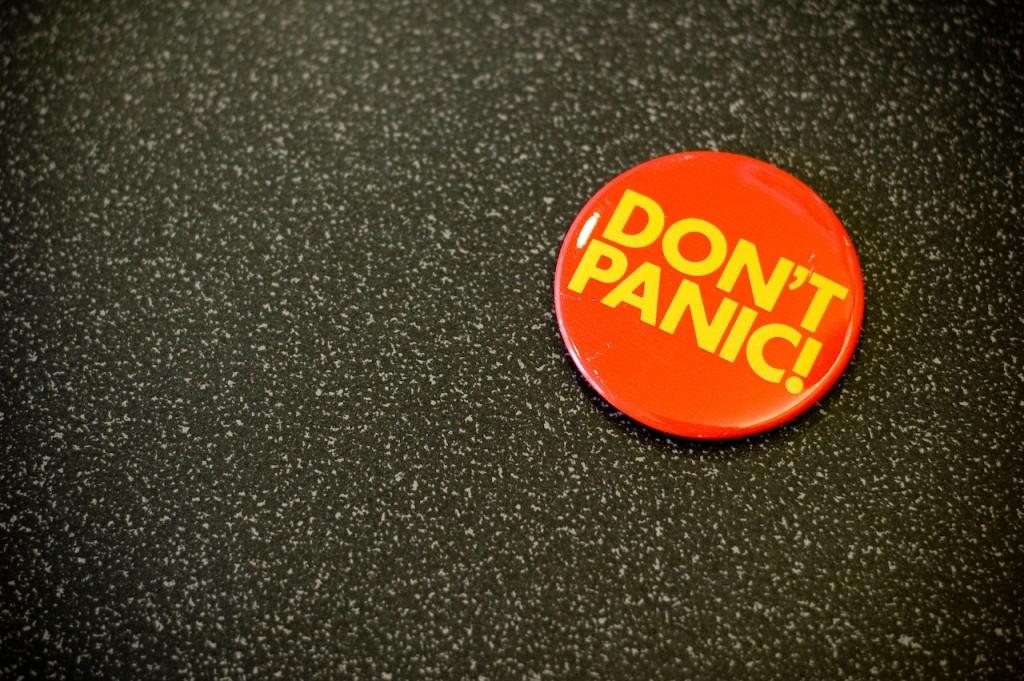 Your Afternoon Dump... Where Douglas Adams has some good advice for Celtics fans