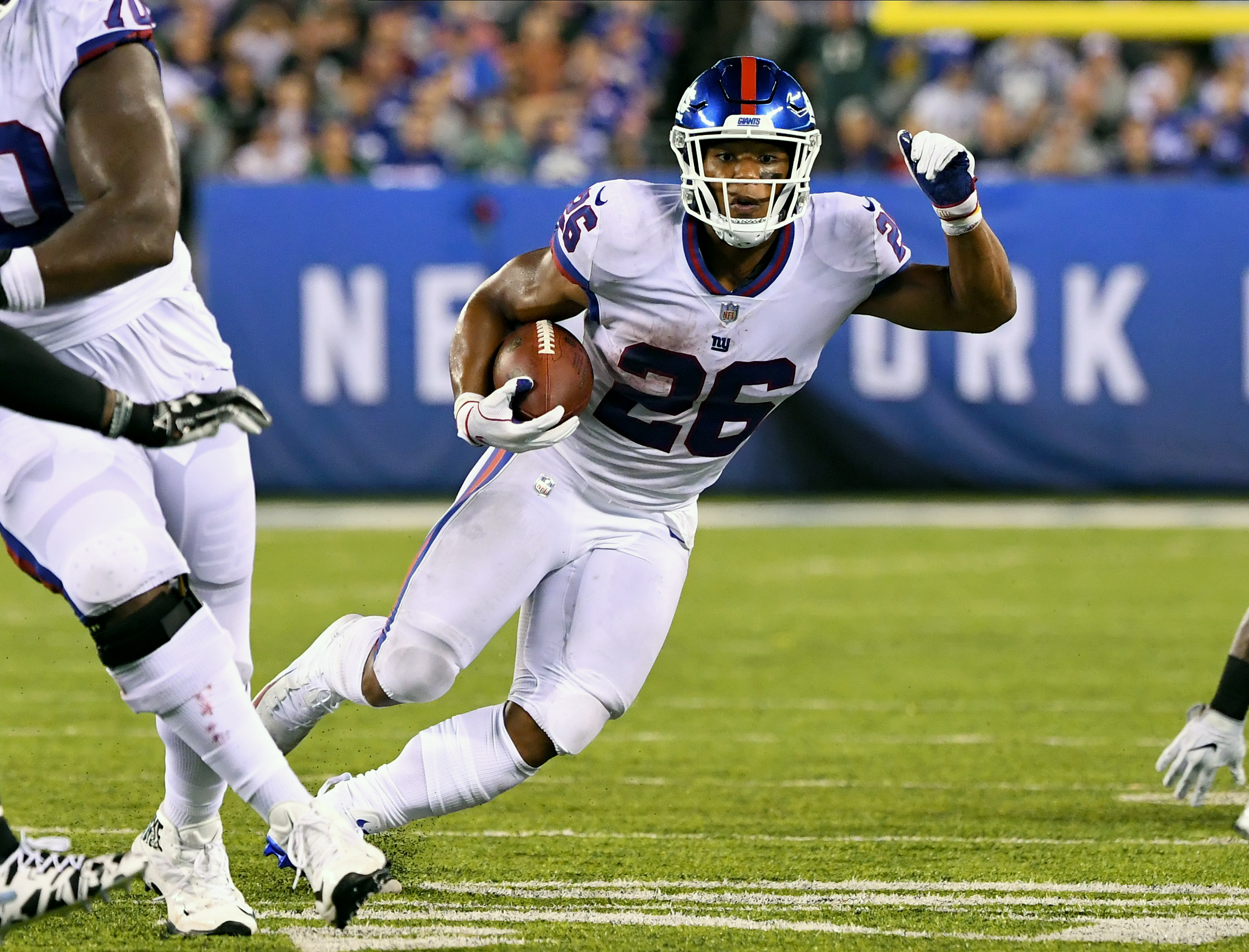 New York Giants season is a mess, but Saquon Barkley has ability to be the best