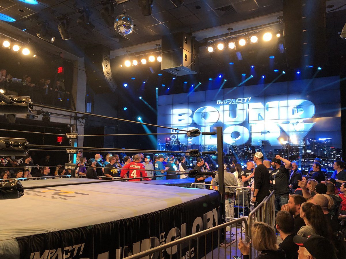 Former WWE Star Makes Surprise Appearance At Impact Wrestling 'Bound For Glory'