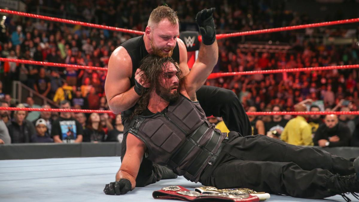 WATCH: Off-Air Footage Of Seth Rollins After Shocking Dean Ambrose Heel Turn On 'WWE Raw'