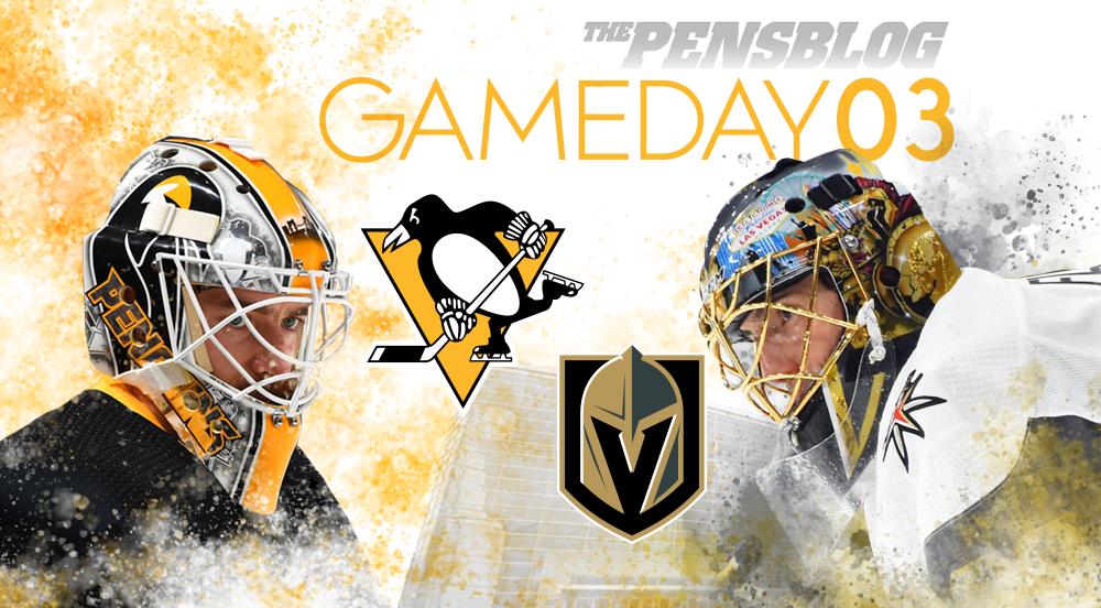 Gameday - Game 3 - Penguins vs. Golden Knights