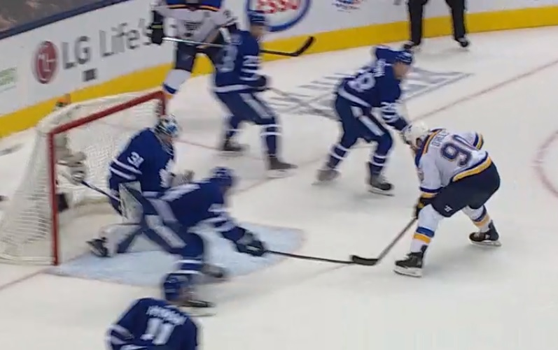 Video: Ryan O'Reilly scores his first goal with the Blues