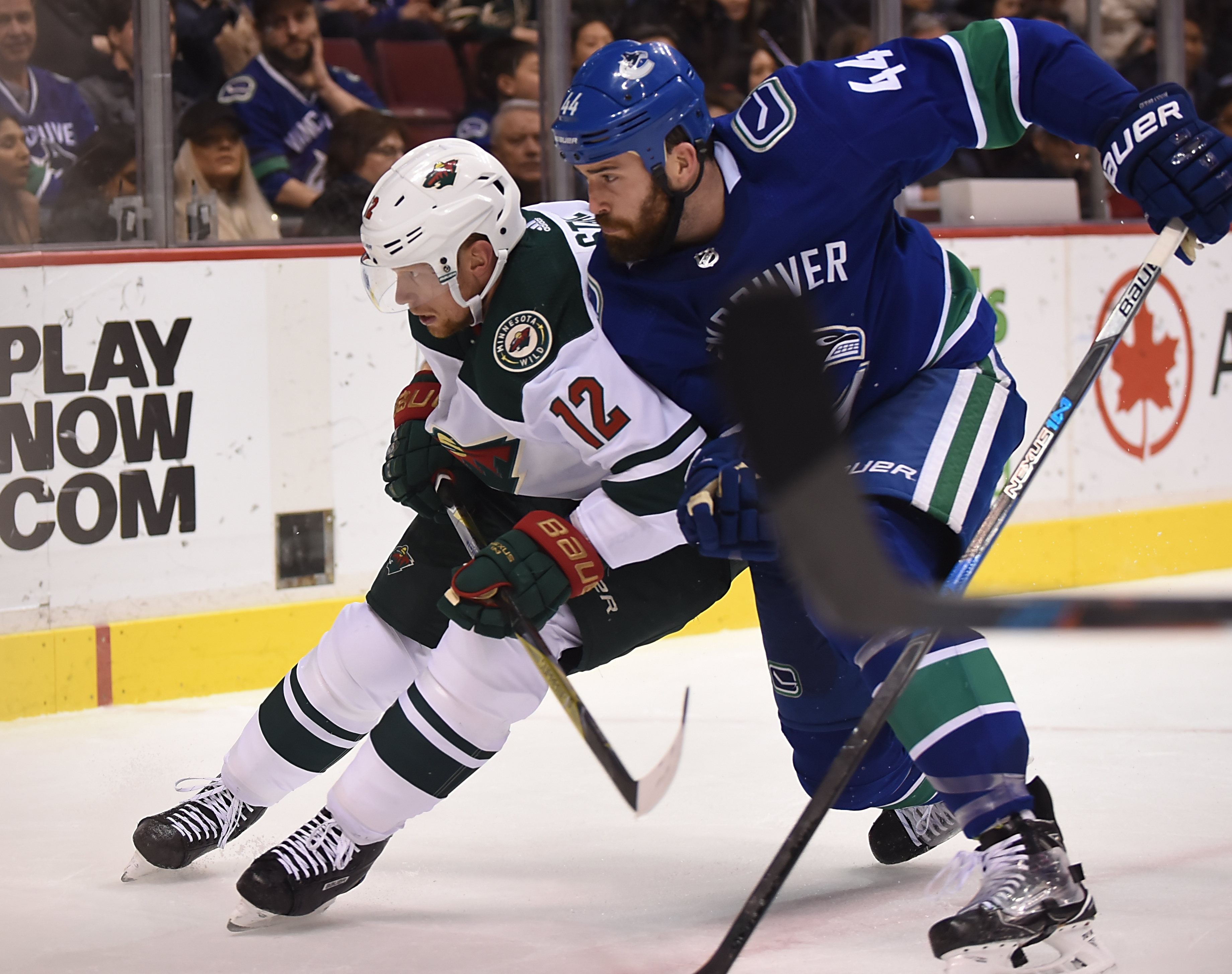 Game Preview: Minnesota Wild vs. Vancouver Canucks 10/29/18 @ 9:00PM at Rogers Arena