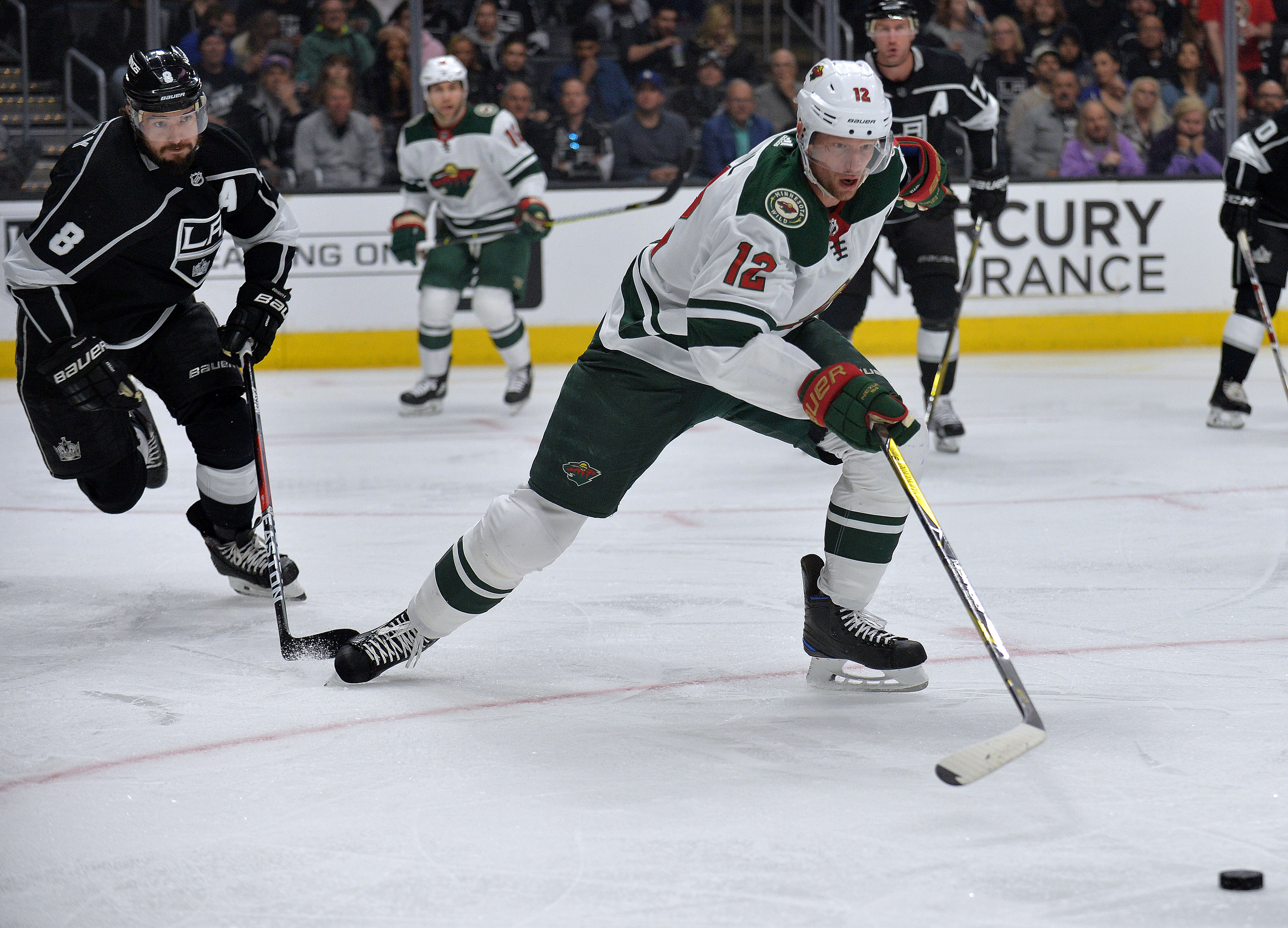 Dubnyk and Late Penalty Kill Stands Tall To Deliver 4-1 Wild Victory Over Los Angeles