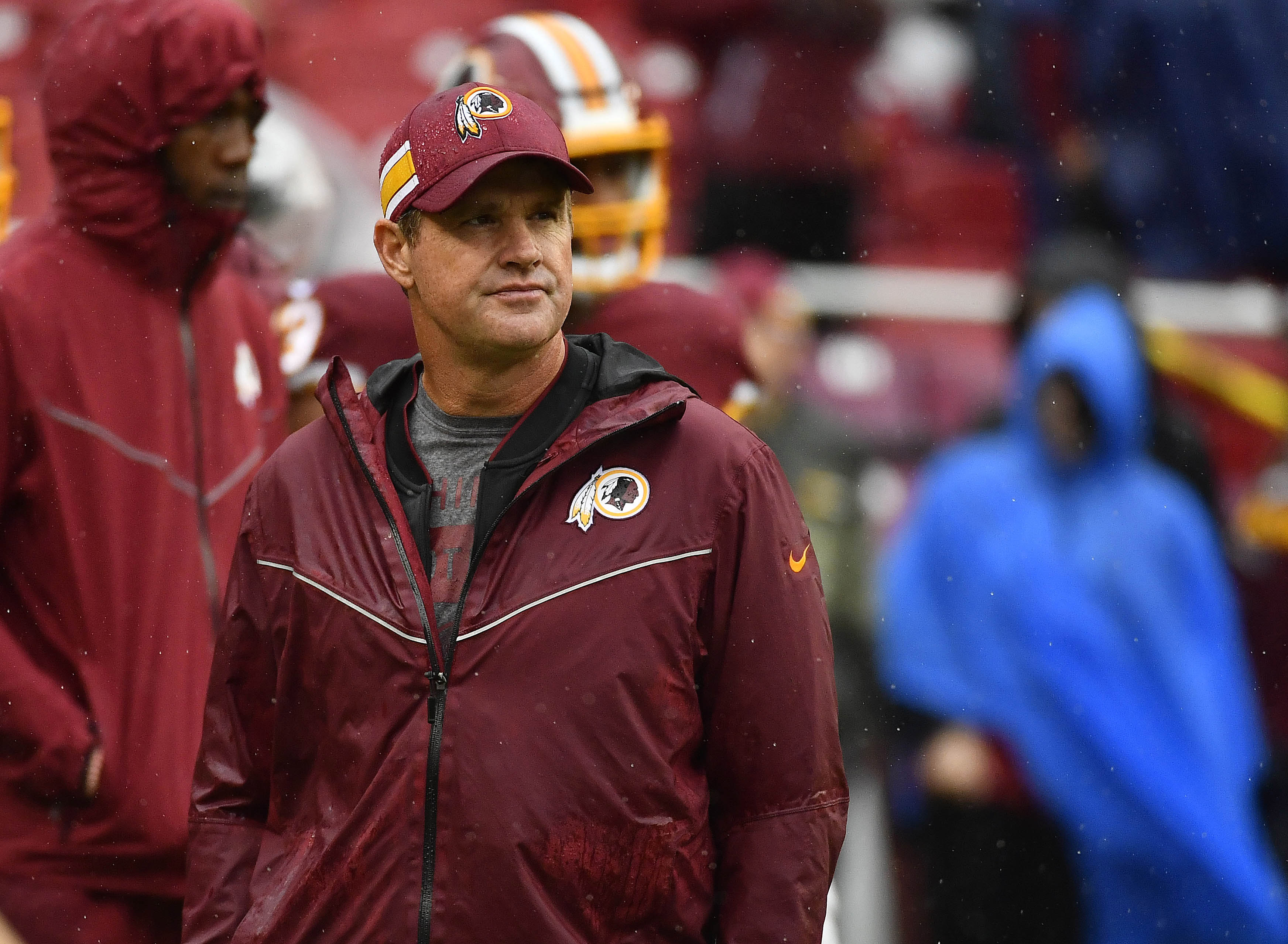 Jay Gruden is unaware of the Redskins' plans moving forward