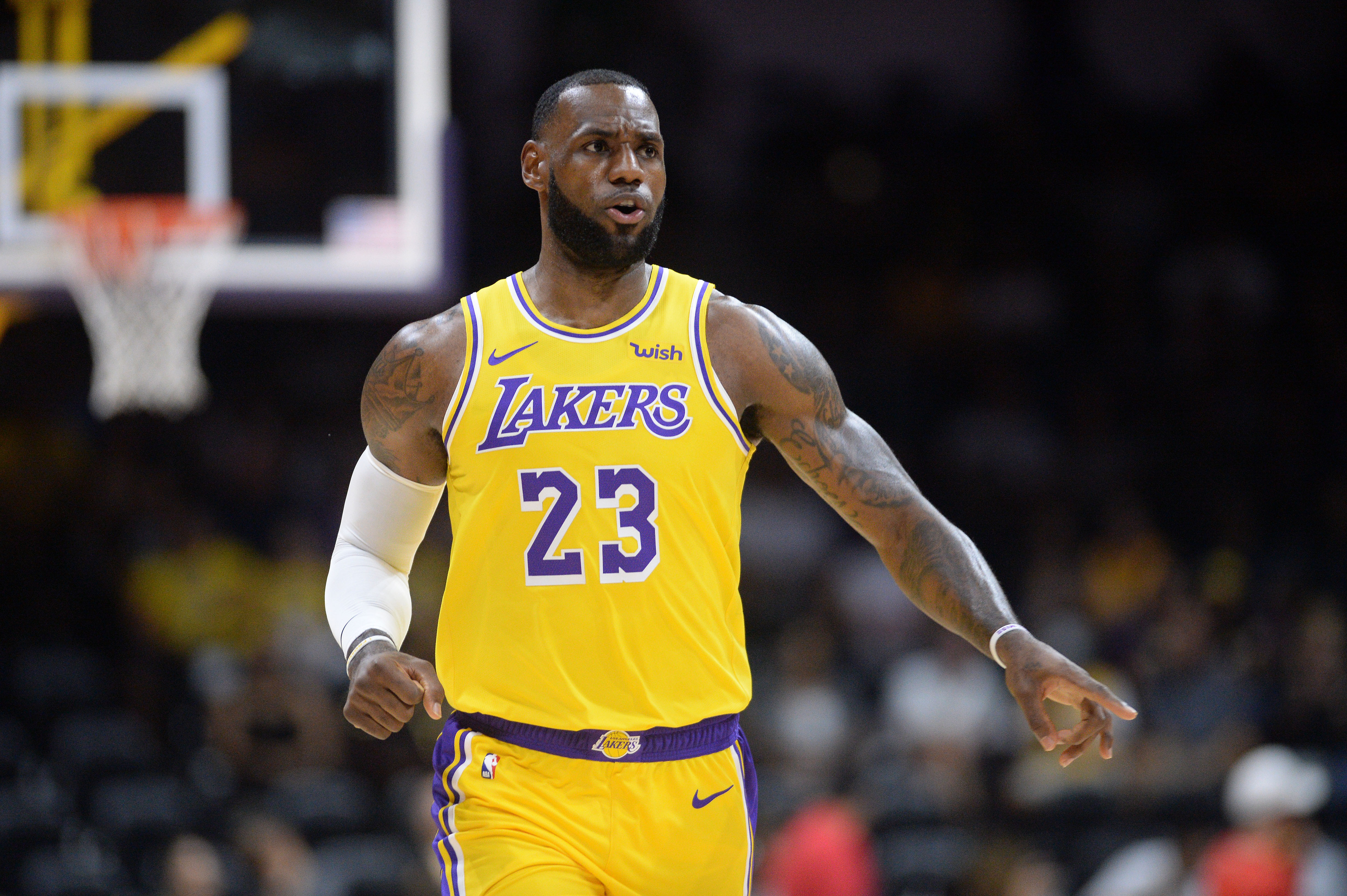 LeBron James declares Lakers must use young core as strength