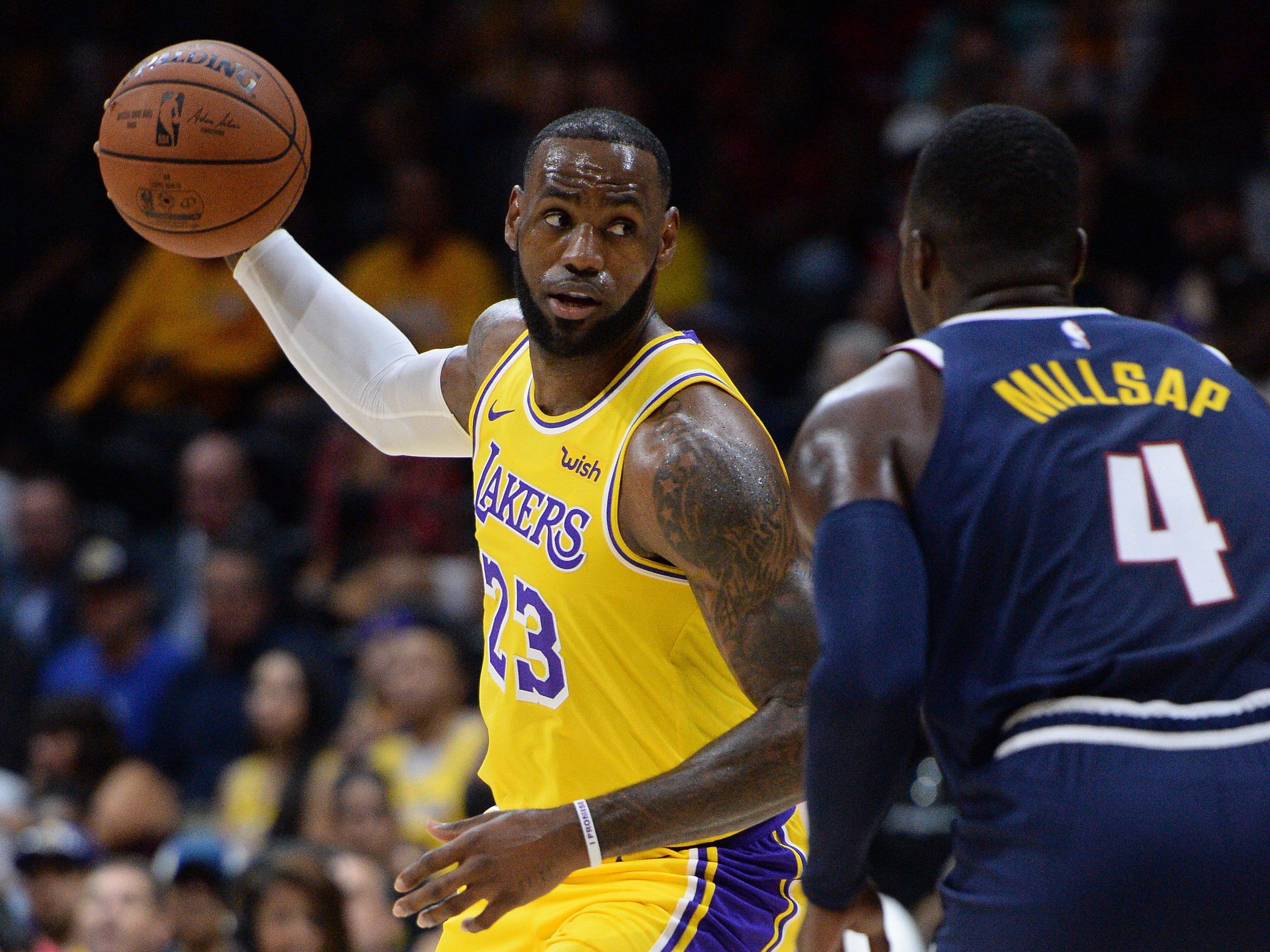 LeBron James will make Lakers' debut at Staples Center on Tuesday