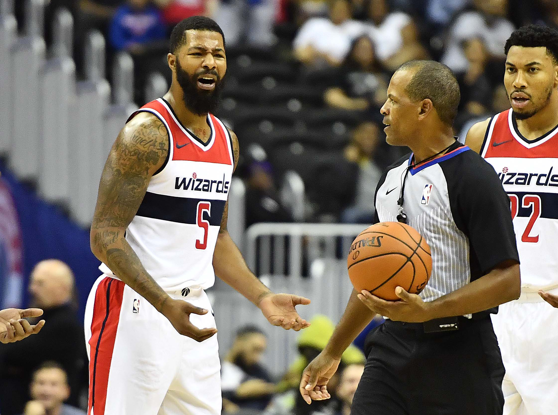 Hot heads prevail as Wizards drop preseason opener to Knicks