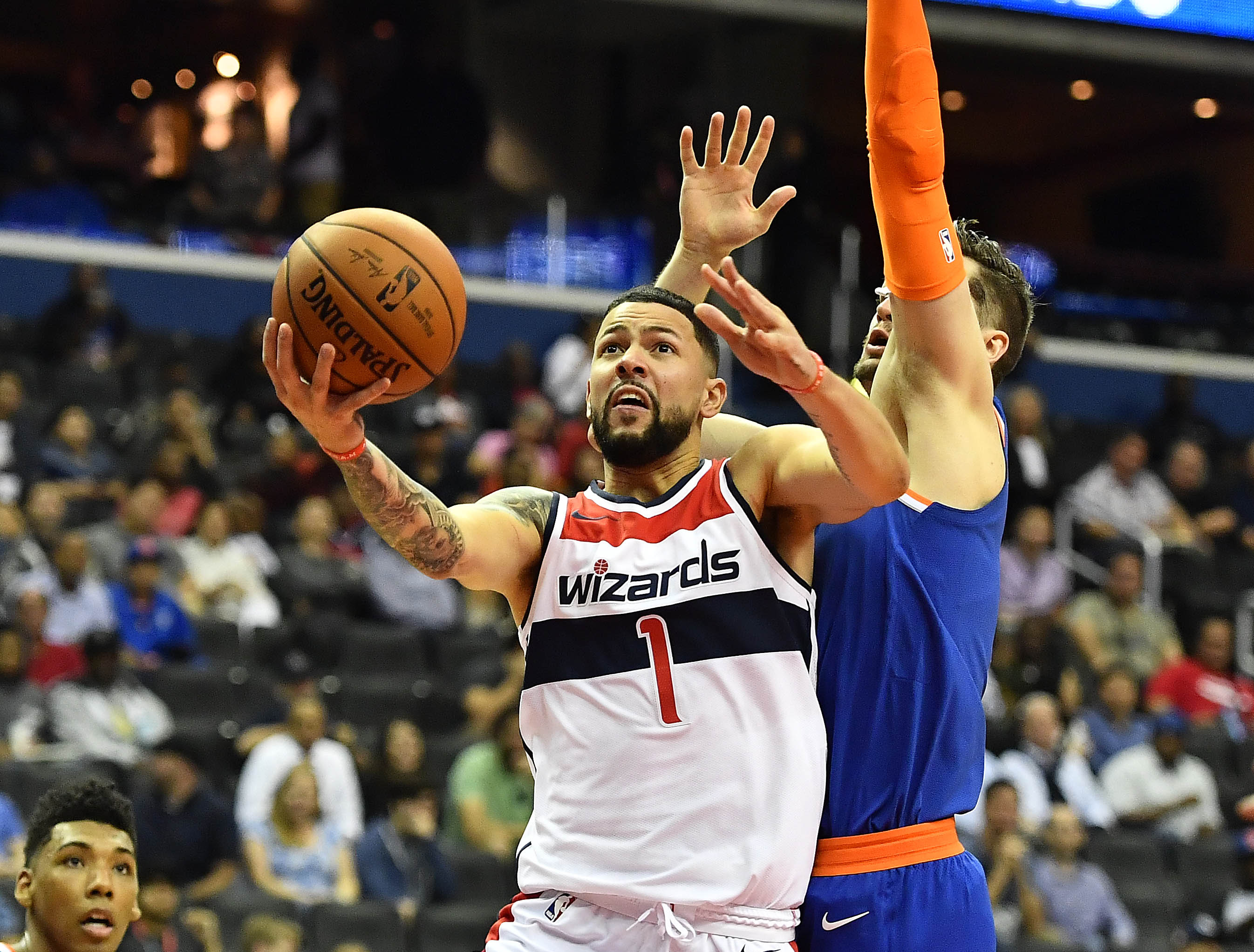 From the Locker Room: Markieff Morris fed up with 'stupid ass rookie' Mitchell Robinson