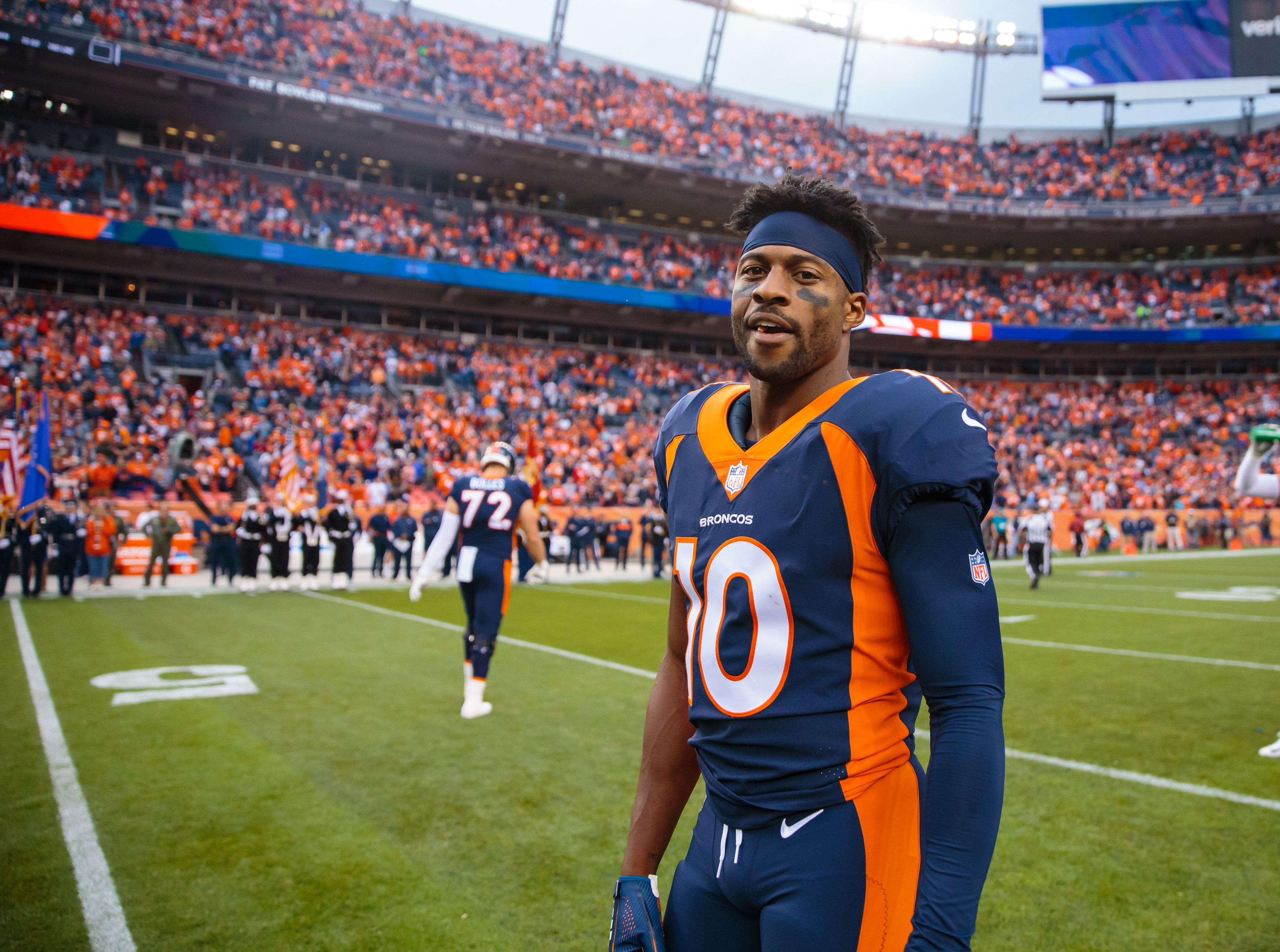 Emmanuel Sanders calls out NFL for being 'soft' following rule changes