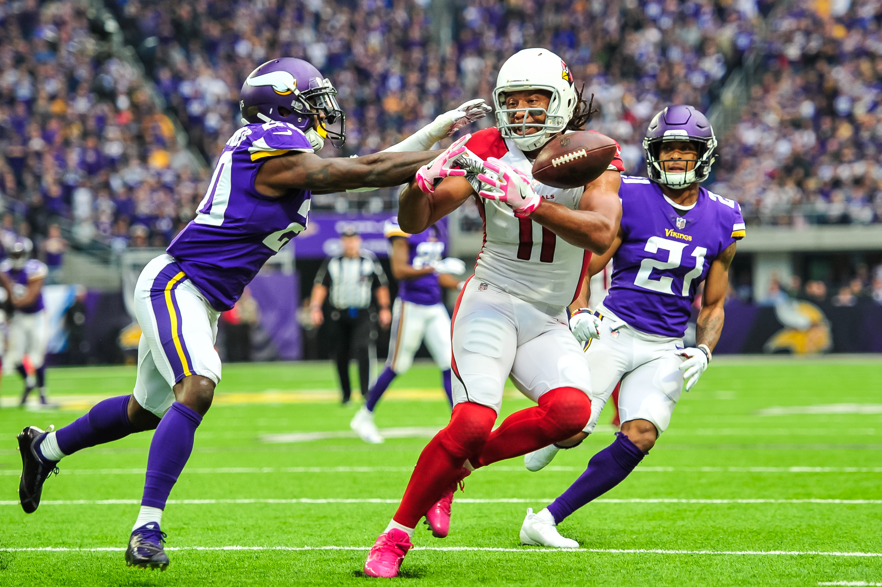 Vikings trade rumors indicate team could inquire about Larry FItzgerald