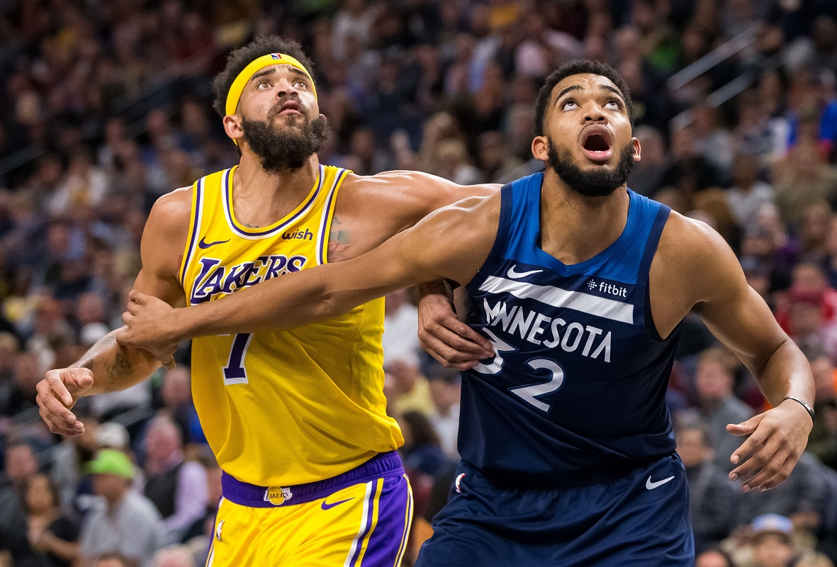 Timberwolves and Lakers