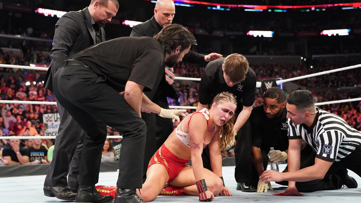 Ronda Rousey Responds To 'Survivor Series' Beatdown From Charlotte Flair