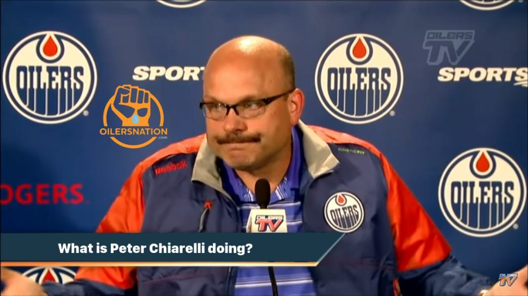 """The Oilers Rig Radio; 2018/19 Ep3, """"He has great compete level for his net-front presence."""""""