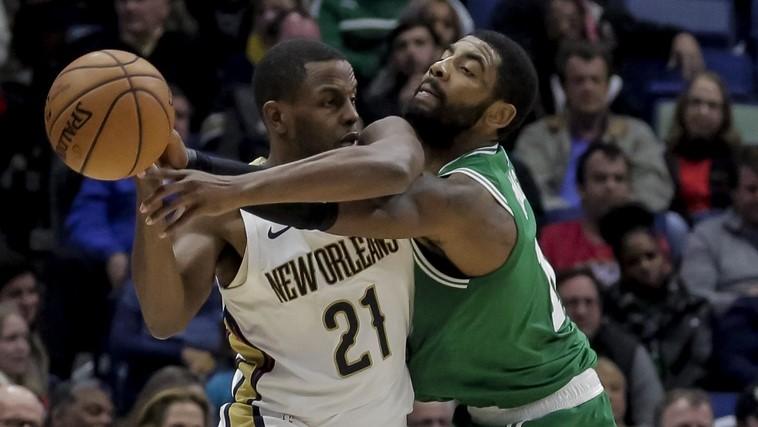 Boston Celtics practice report: Kyrie Irving focusing on his defense
