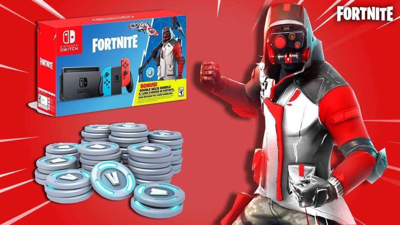 Black Friday 2018 Deals - Nintendo Switch Fortnite Double Helix Bundle