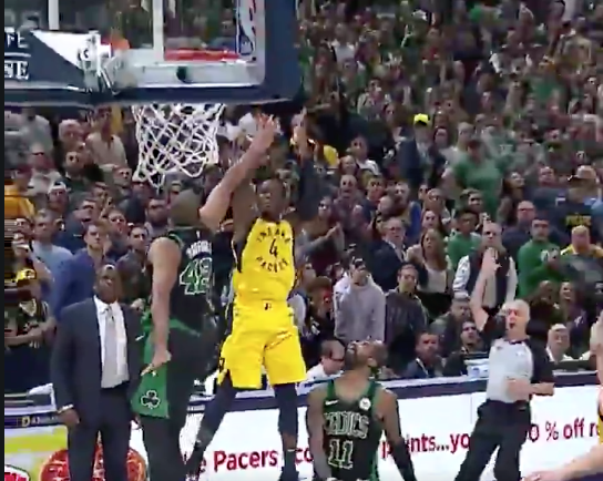 Watch: Victor Oladipo daggers Celtics with game-winning shot