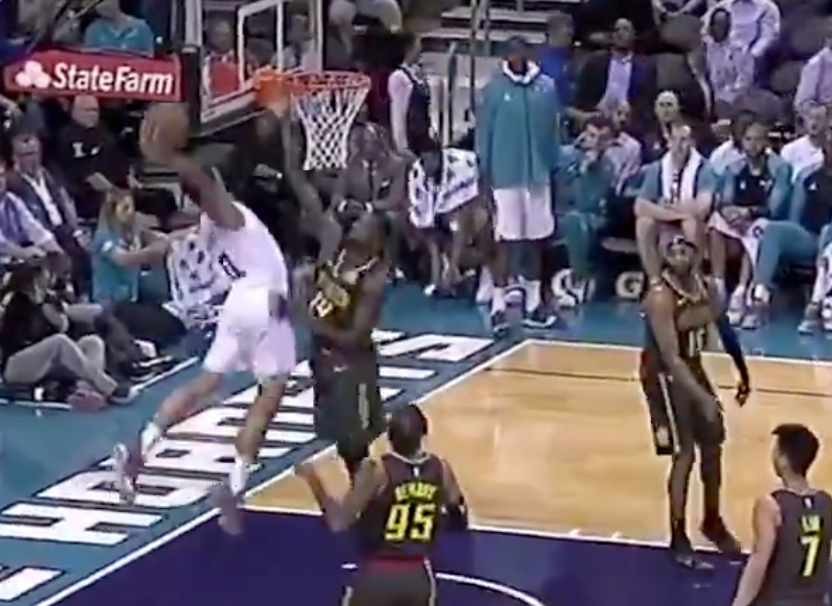 Miles Bridges throws down monster dunk of the year candidate (Video)