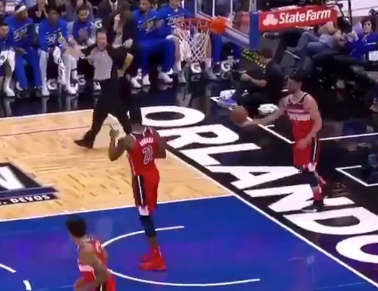 Wizards veteran Jeff Green made a comically awful gaffe on inbounds attempt (Video)