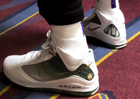 Look: LeBron James wears 'SVSM' Nike LeBron 7s for Cavaliers game