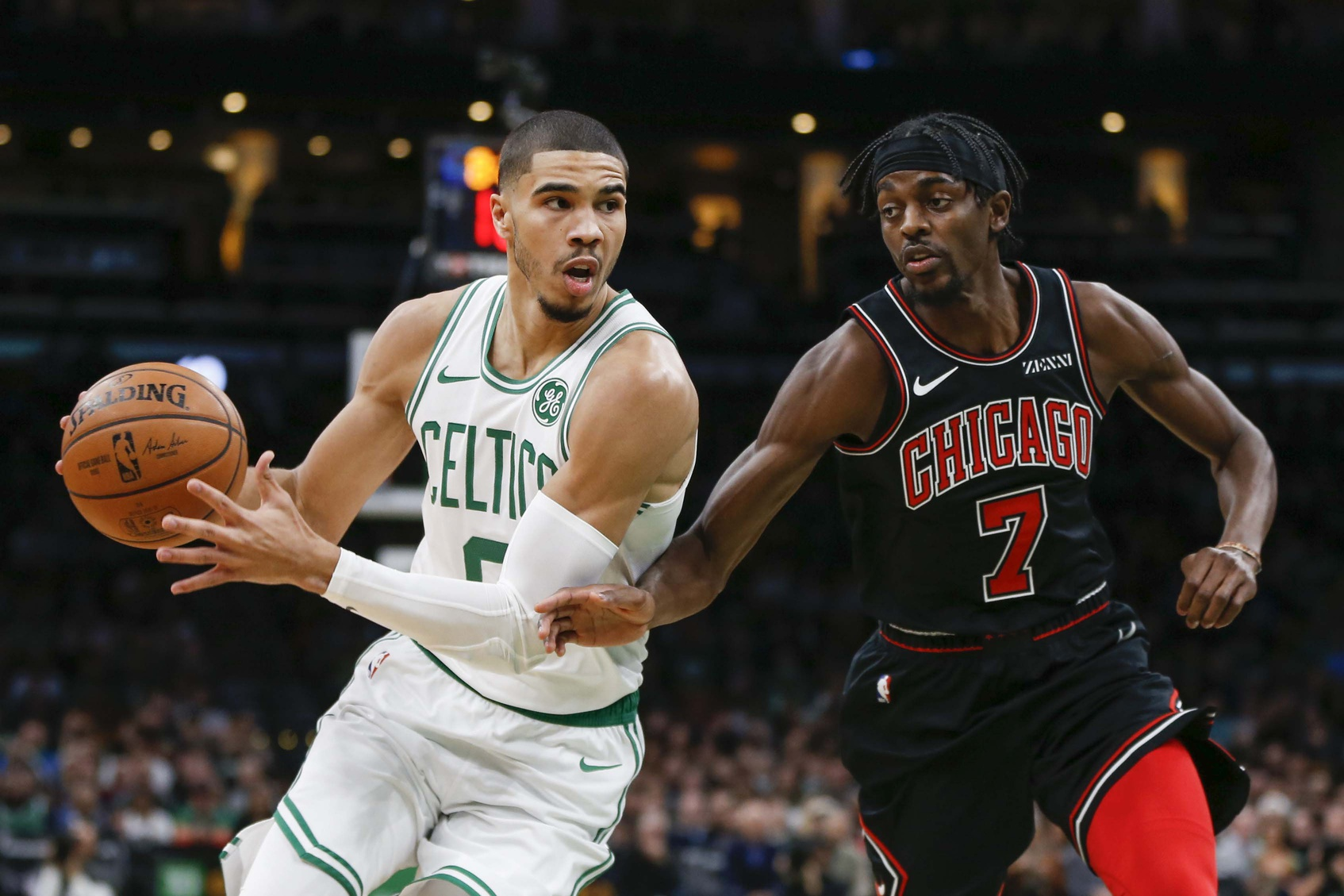Boston Celtics huge second quarter proves an NBA cliche'