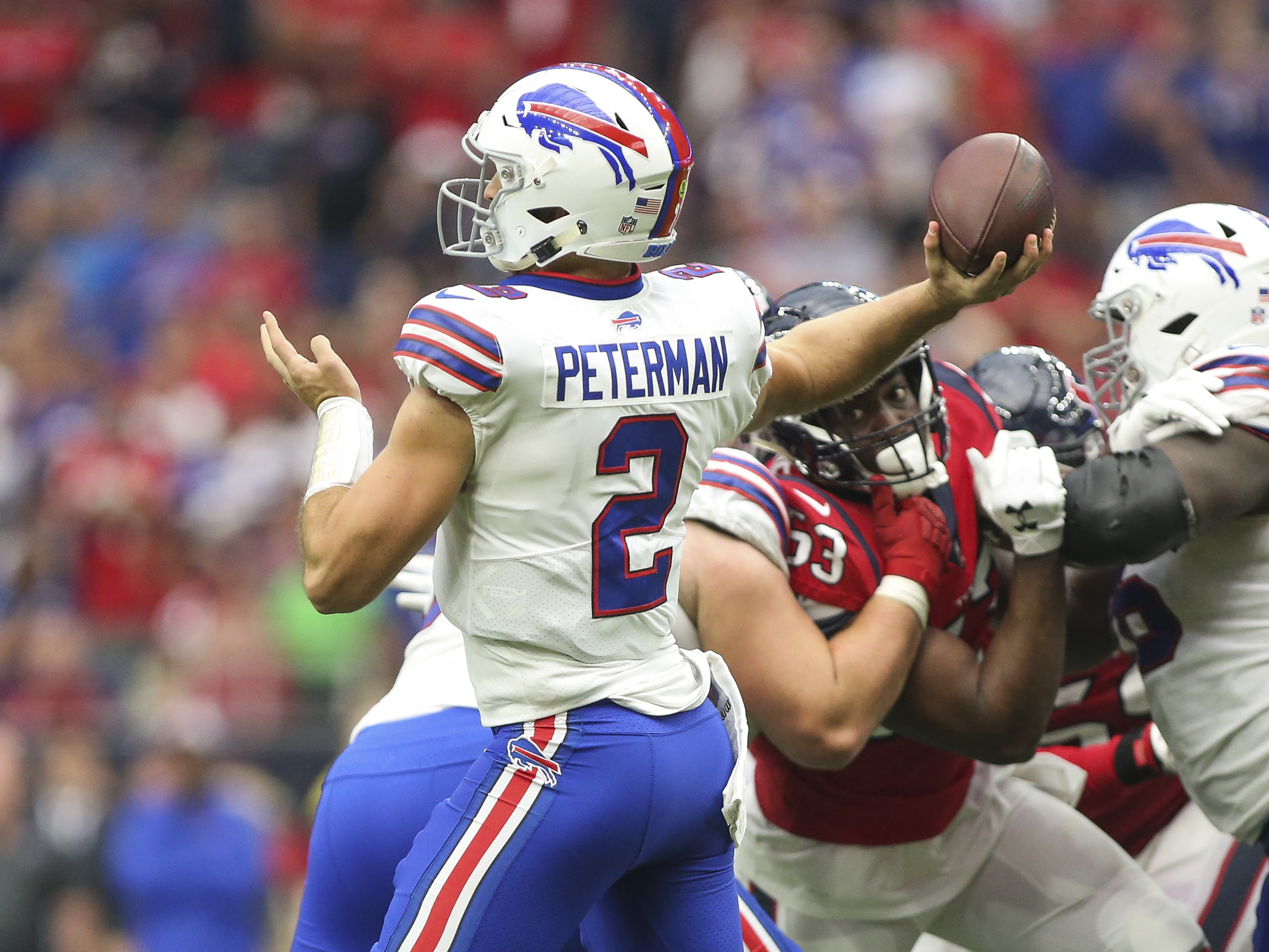 Bills fans launch GoFundMe campaign to plead for Nathan Peterman to retire